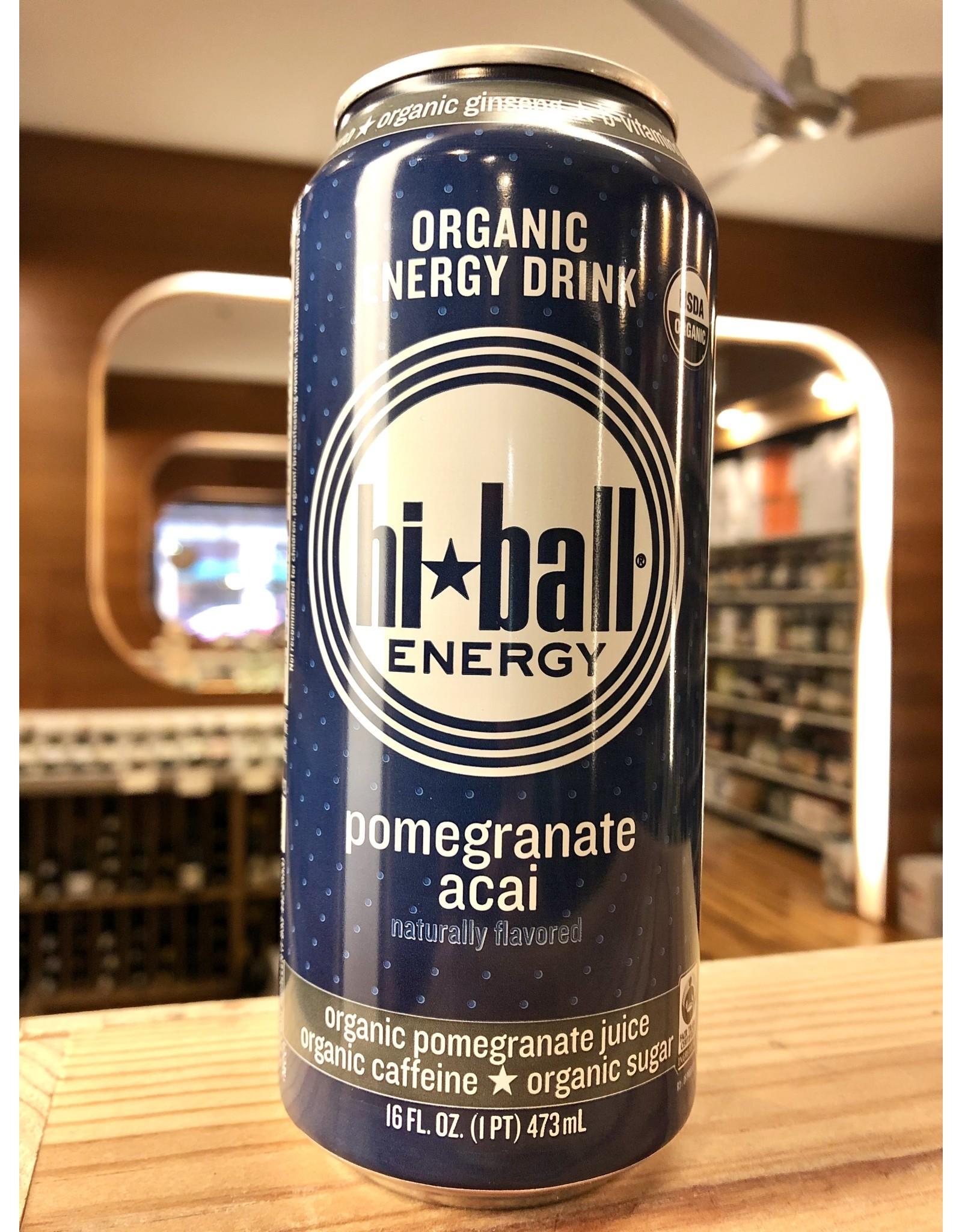 Hi Ball Pomegranate Energy Drink - 16 oz.