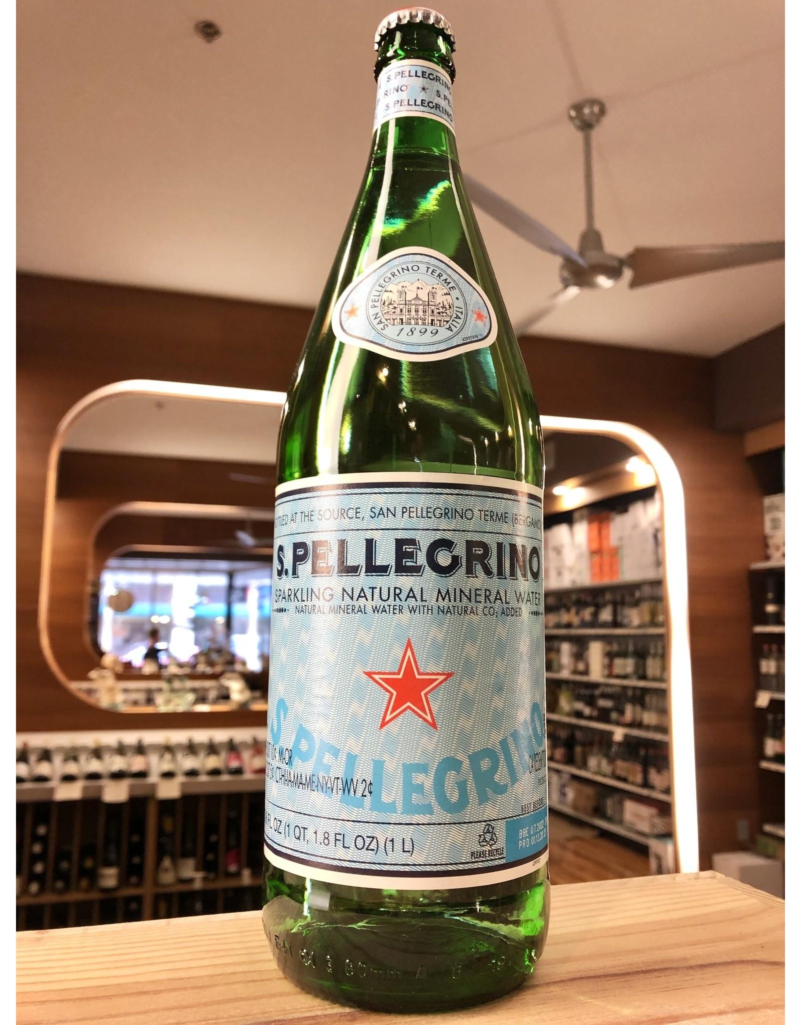 San Pellegrino Water - 1 Liter