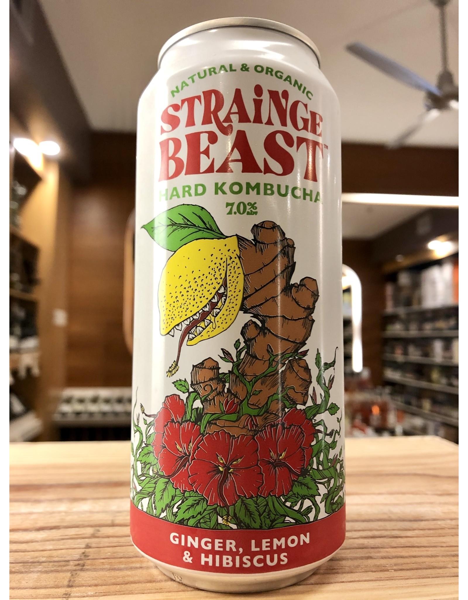 Strange Beast Hard Kombucha - 16 oz.
