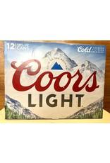 Coors Light - 12x12 oz.