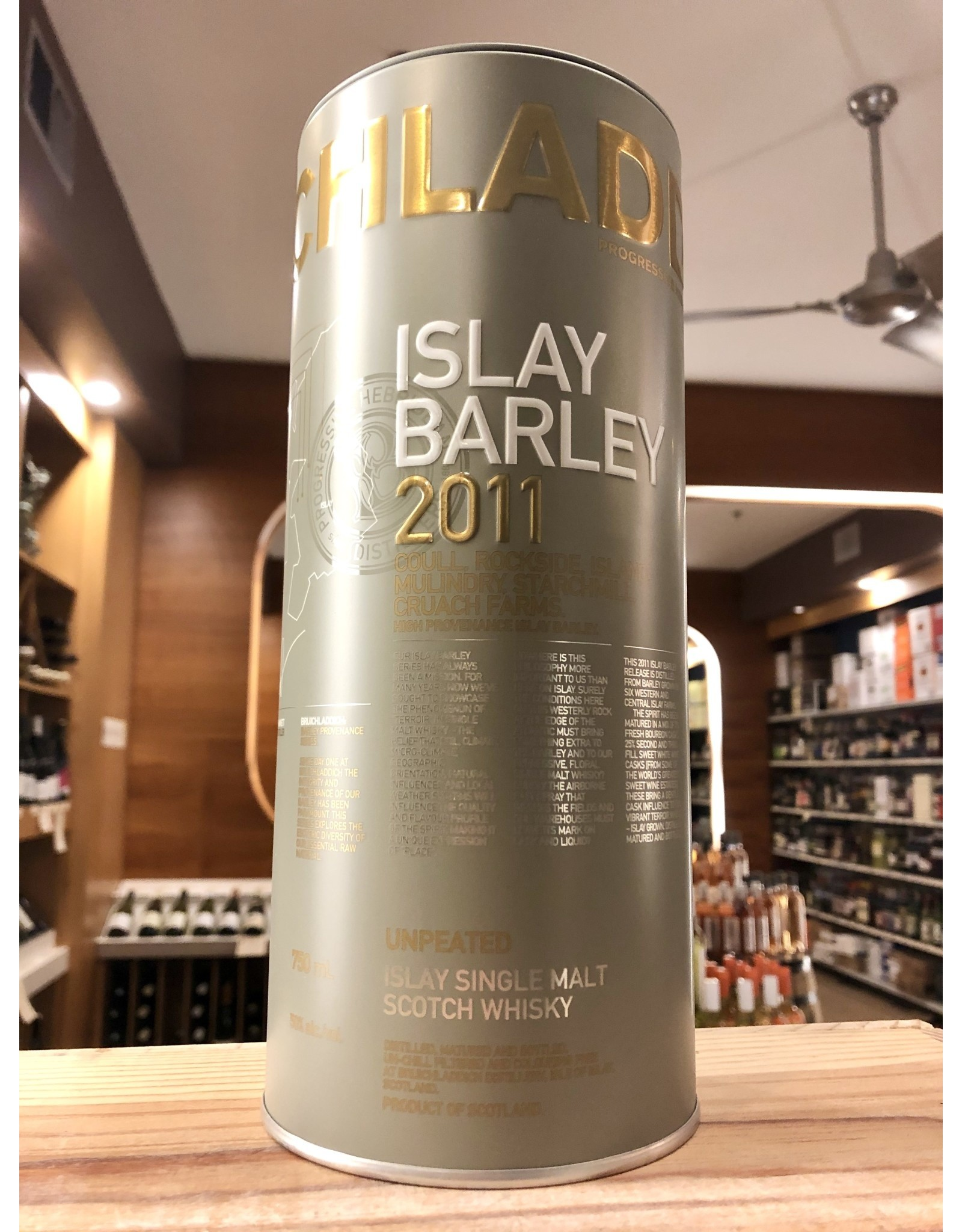 Bruichladdich Islay Barley 2011 Unpeated - 750 ML