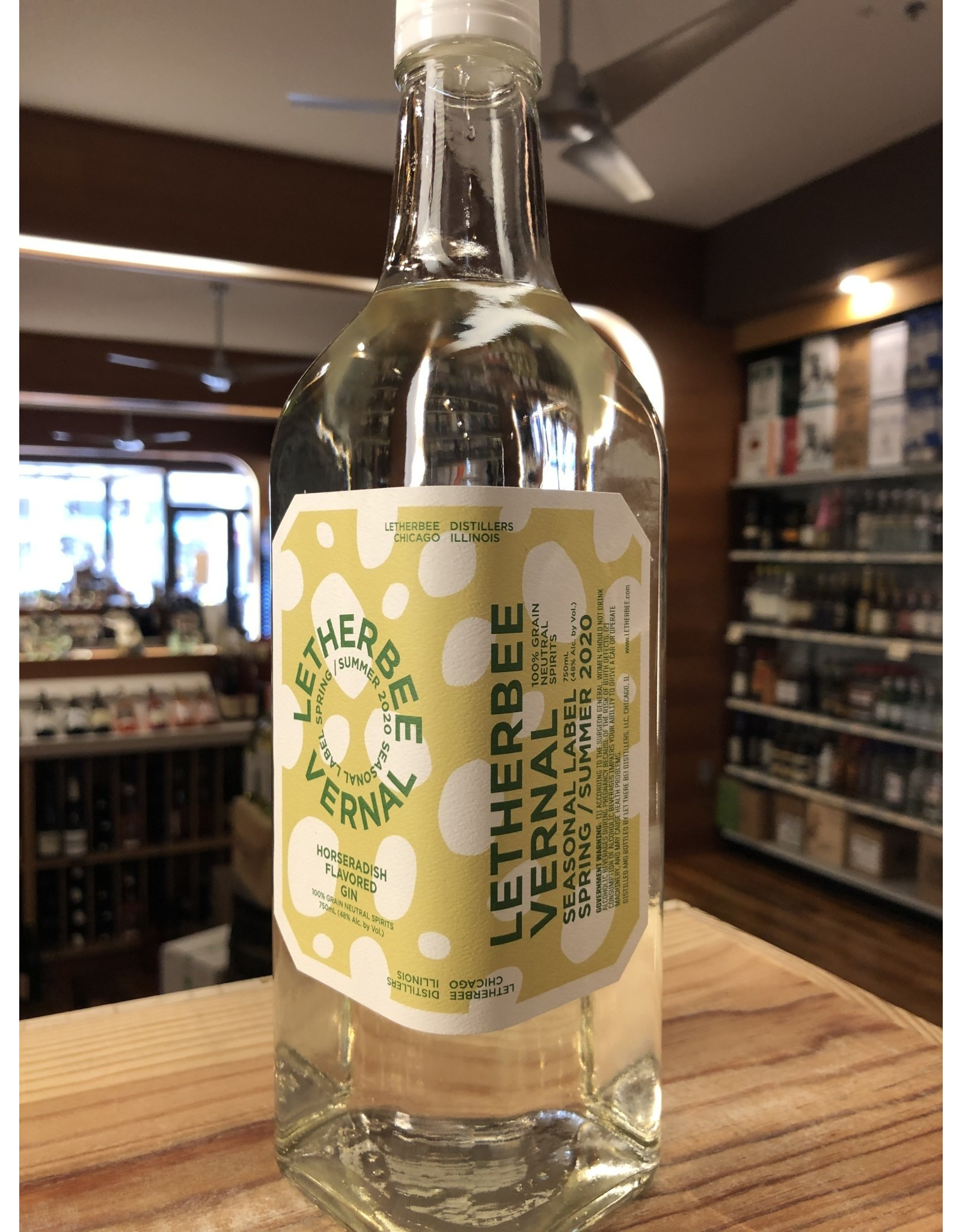 Letherbee Vernal/Autumnal Gin - 750 ML