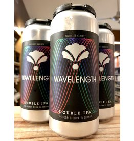 Bearded Iris Wavelength Double IPA - 4x16 oz.