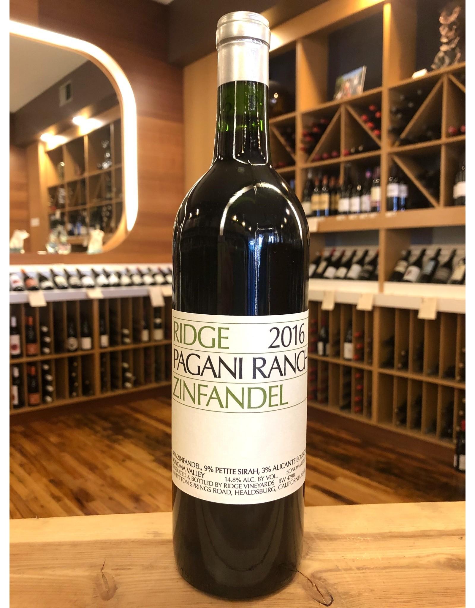 Ridge Pagani Ranch Zinfandel - 750 ML