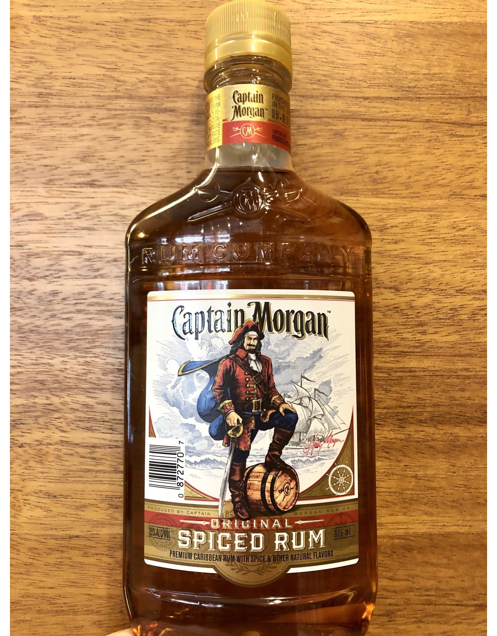 Captain Morgan Spiced Rum  - 375 ML