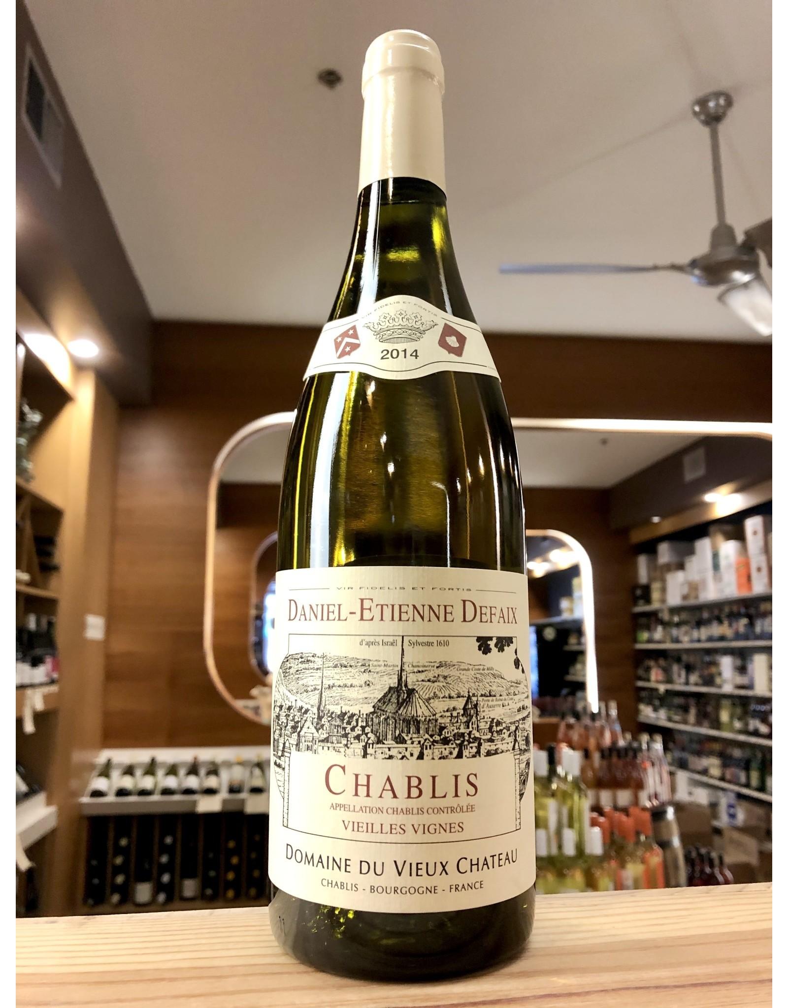 Daniel Etienne Defaix Chablis Vieilles Vignes 2014 - 750 ML