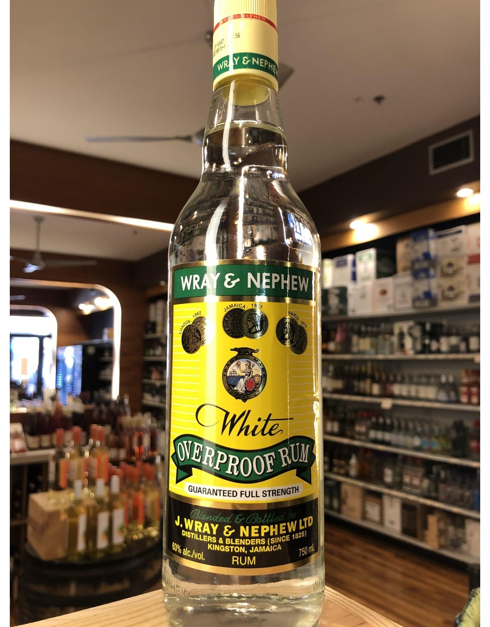 Wray & Nephew Overproof White Rum - 750 ml