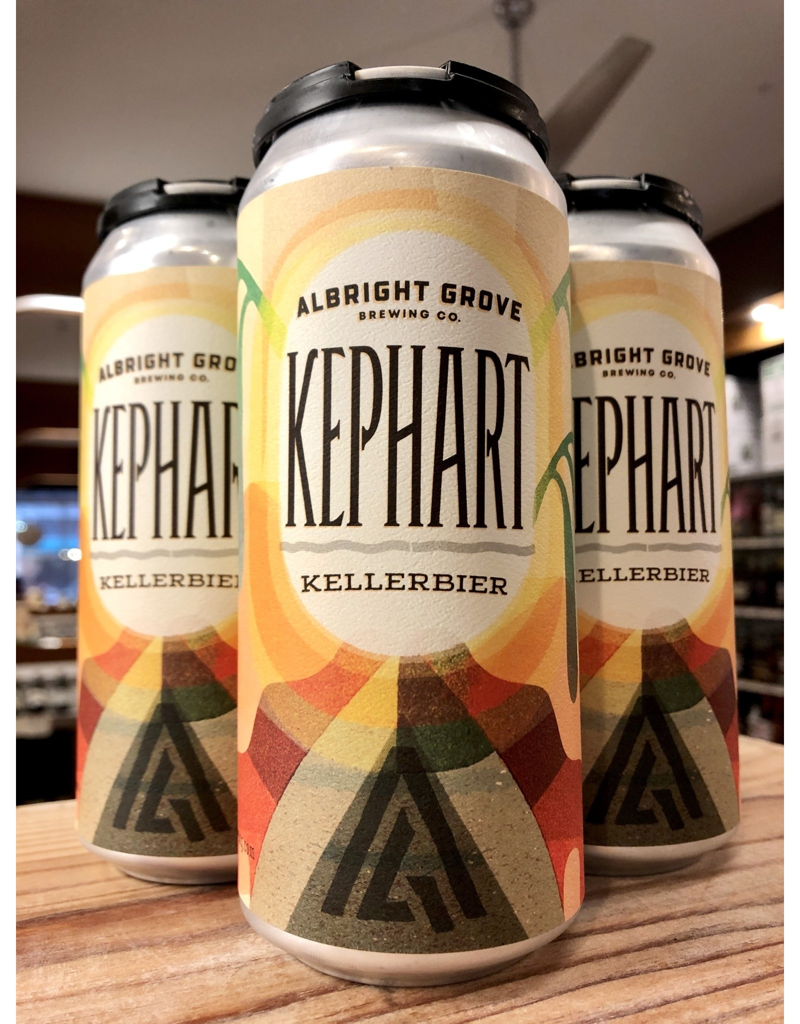 Albright Grove Kephart Kellerbier - 4x16 oz.