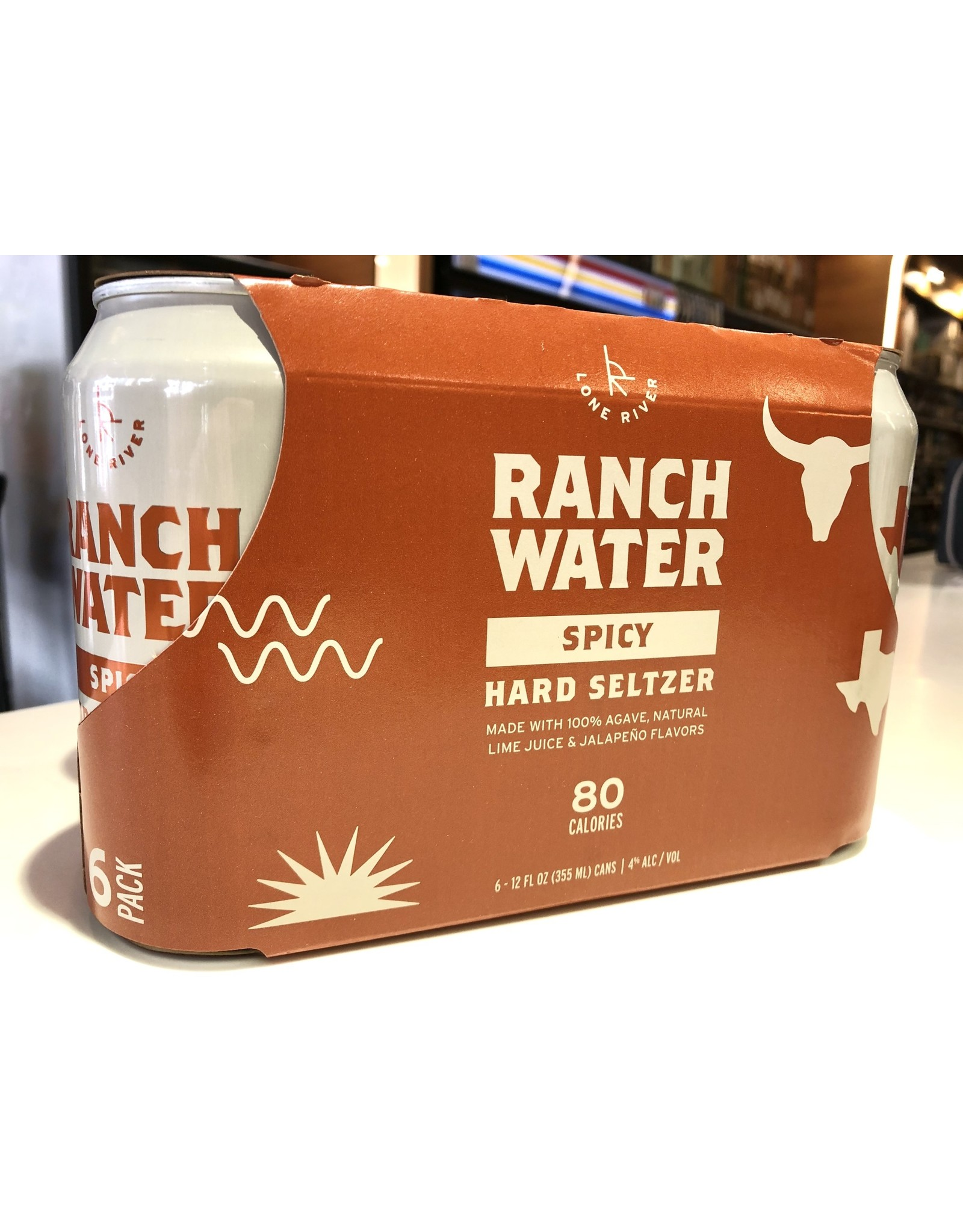Ranch Water Spicy Seltzer - 6x12 oz.