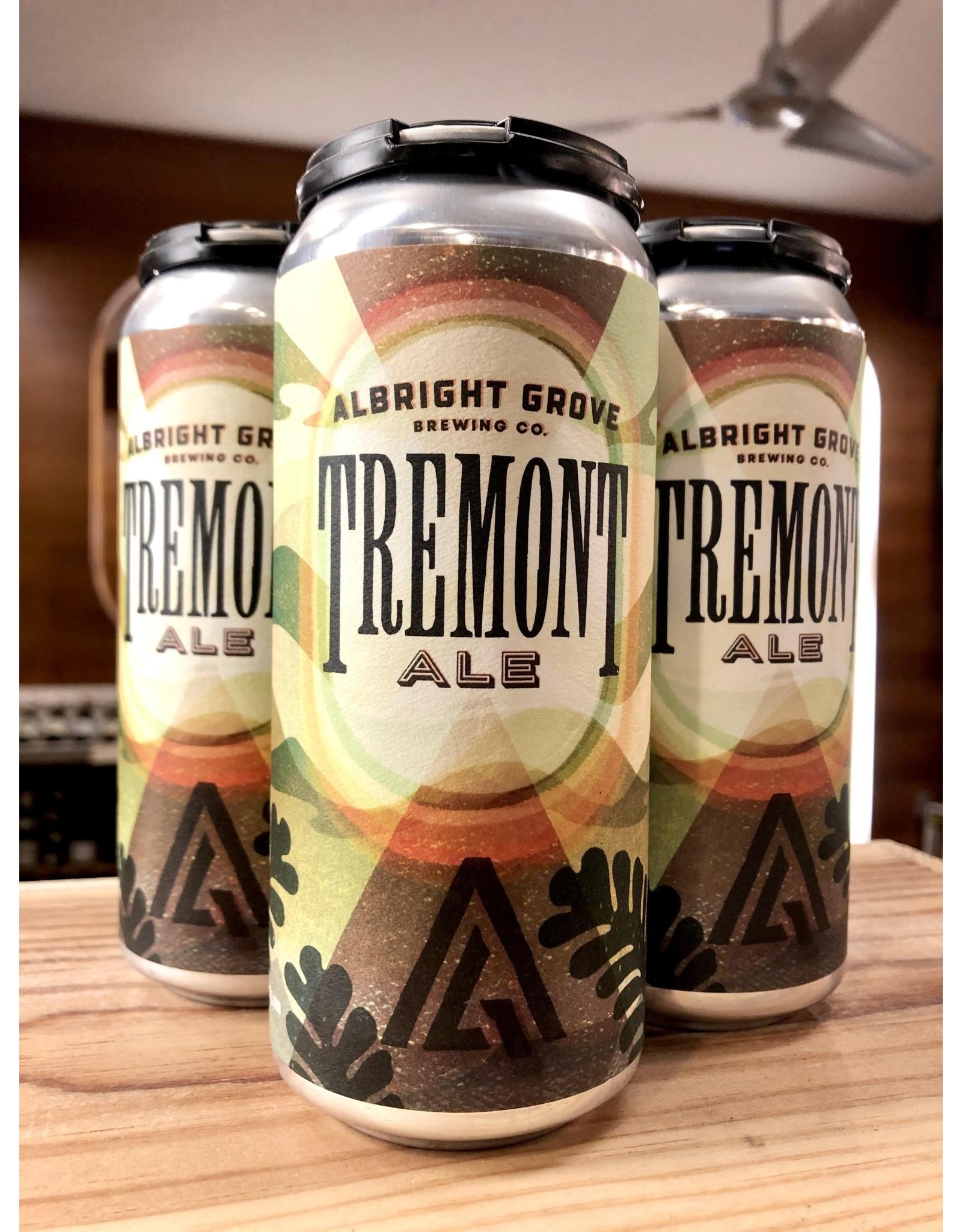 Albright Grove Tremont Ale - 4x16 oz.