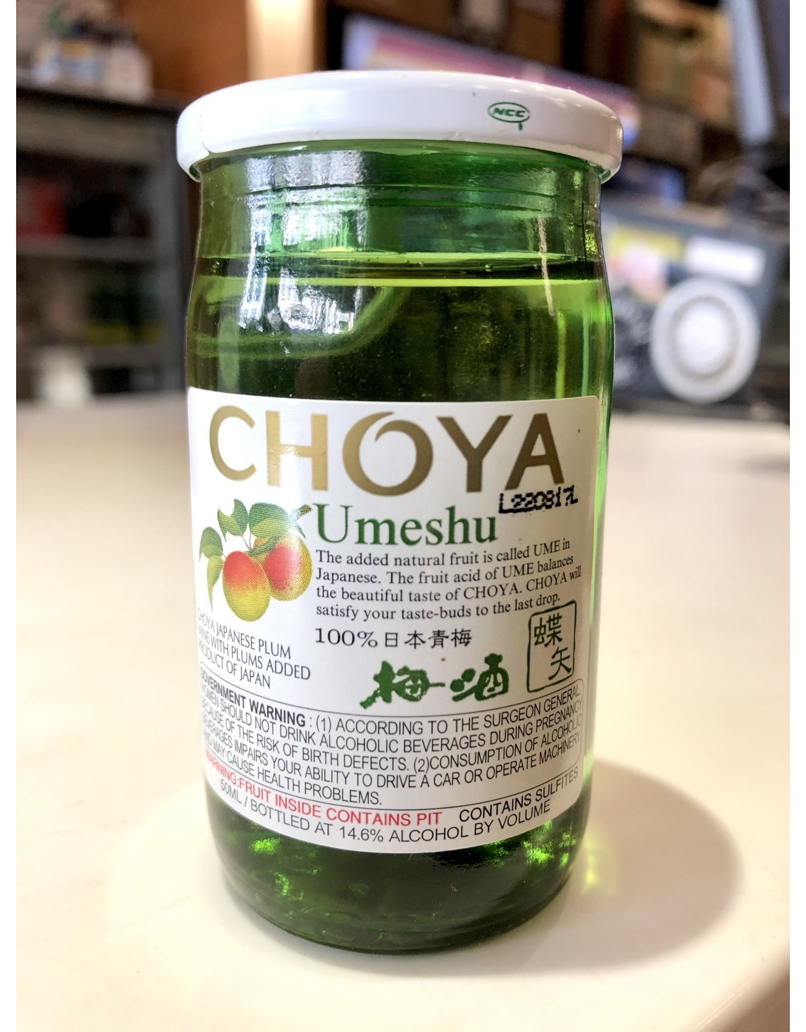 Choya Umeshu Plum Wine - 50 ML