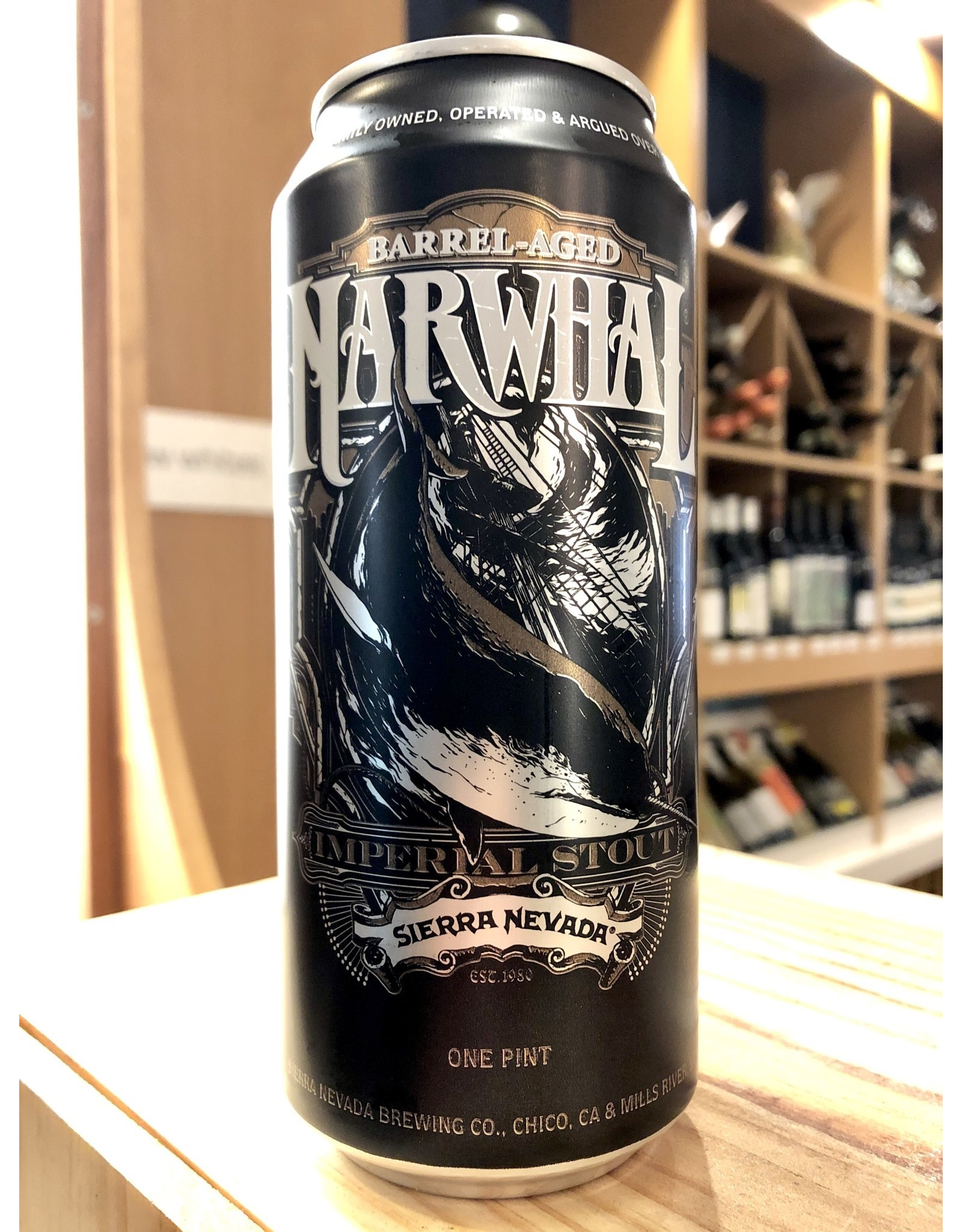 Sierra Nevada Barrel Aged Narwhal Can - 16 oz.