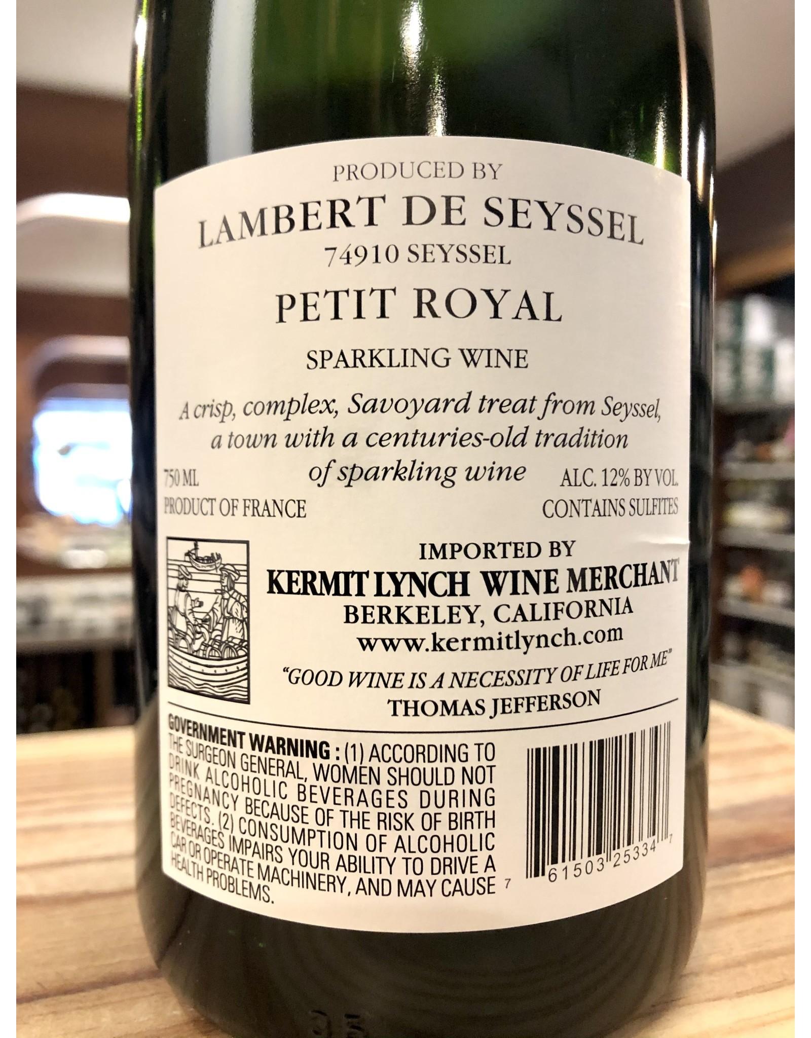 Lambert de Seyssel Petit Royal Sparkling - 750 ML