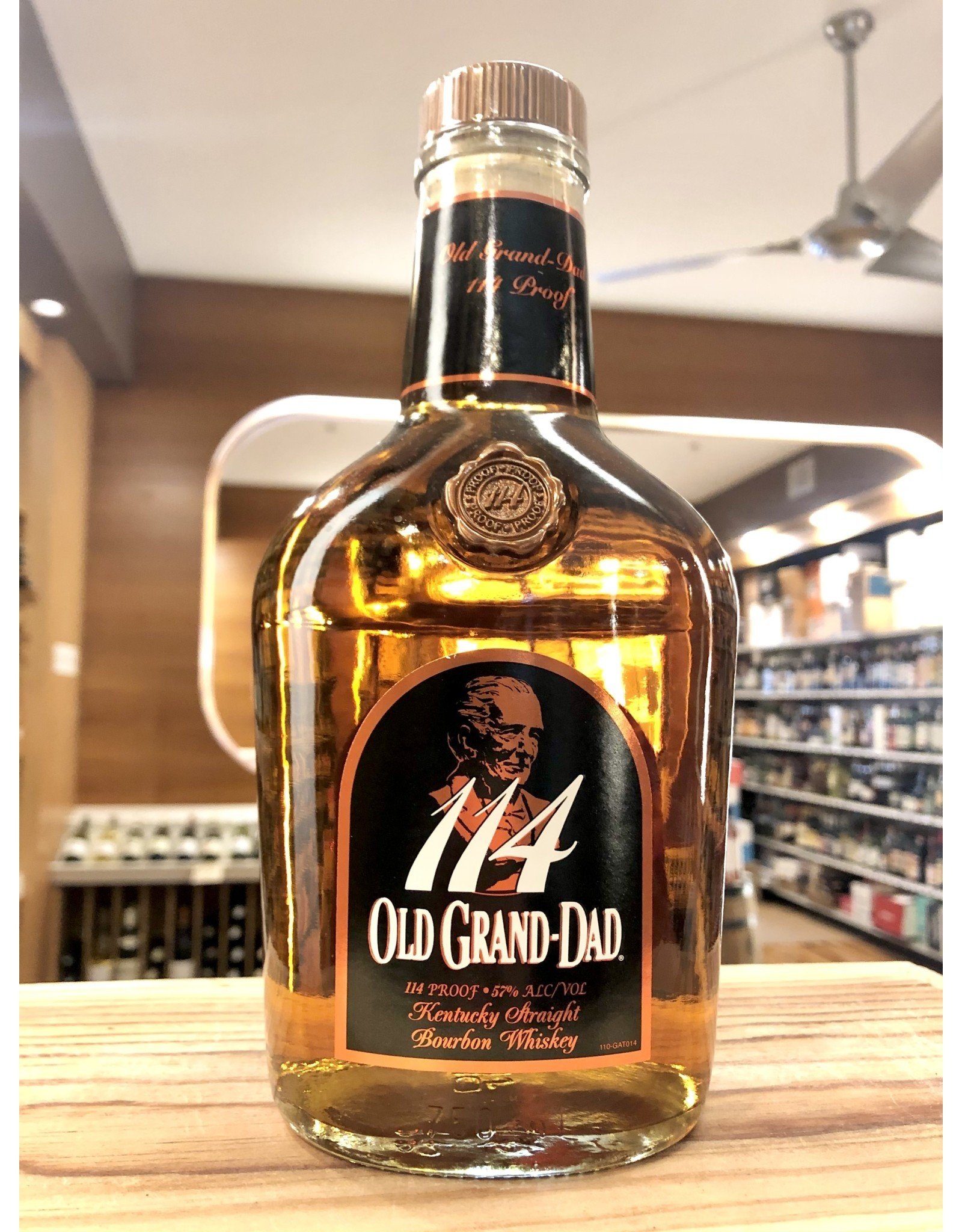 Old Grand Dad 114 Proof Bourbon - 750 ML
