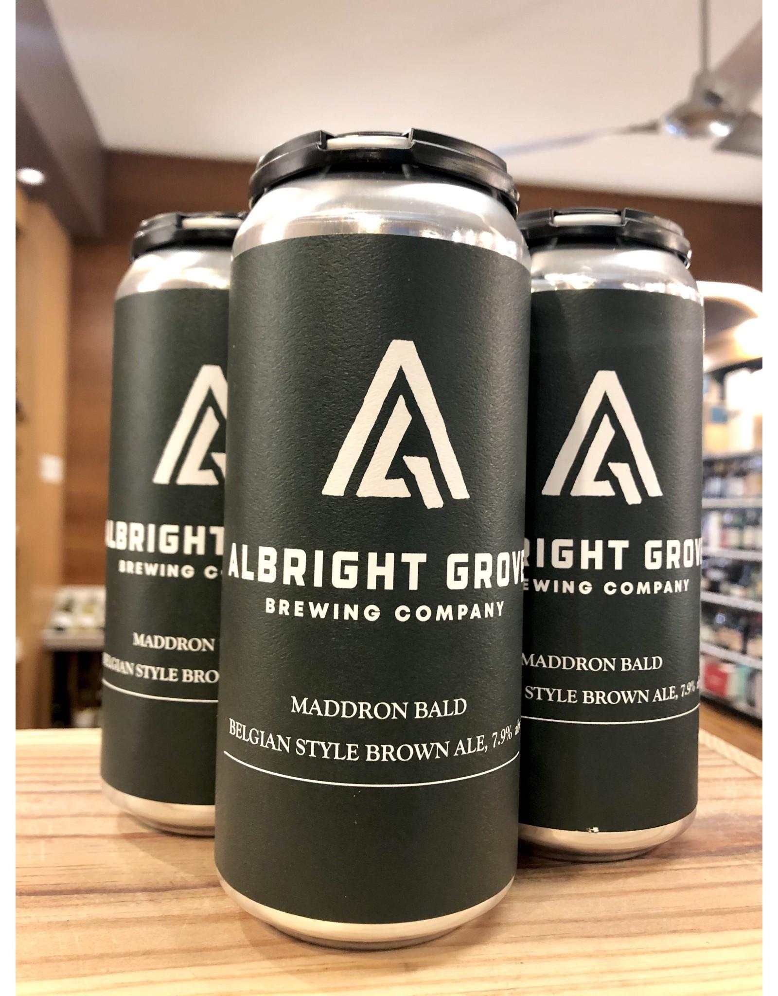 Albright Grove Maddron Bald Brown Ale - 4x16 oz.