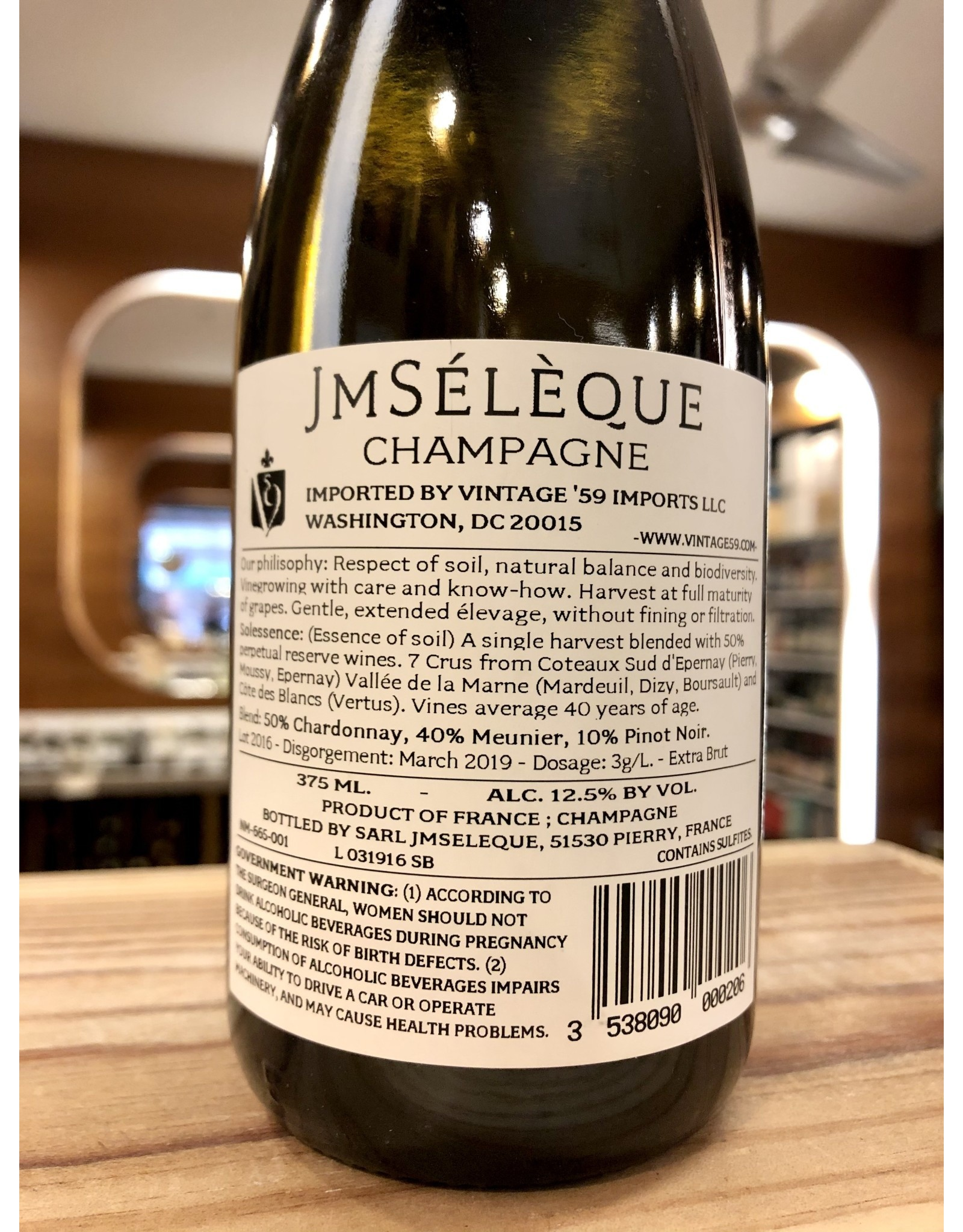 JM Seleque Solessence Champagne - 375 ML