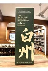 Hakushu 12 Year Single Malt - 750 ML