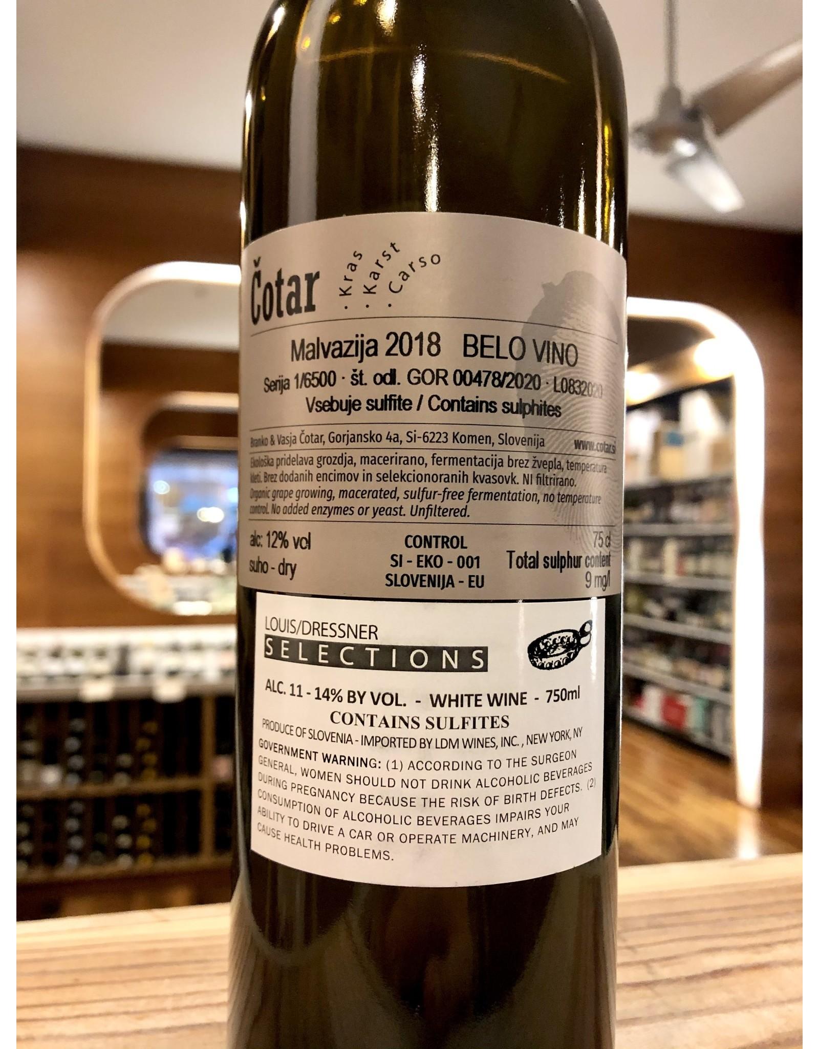 Cotar Malvazija - 750 ML