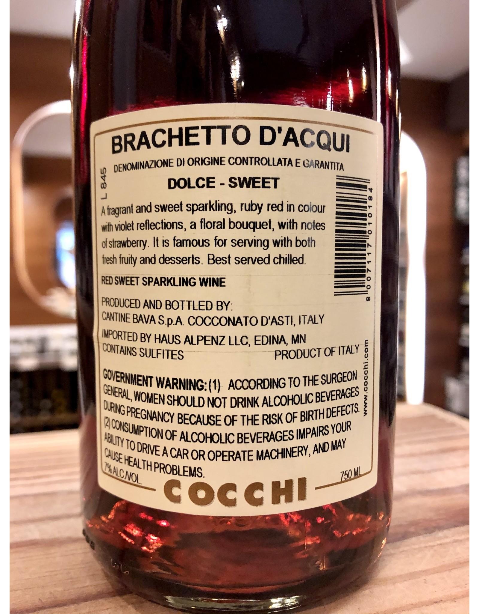 Cocchi Brachetto d'Acqui Sparkling - 750 ML