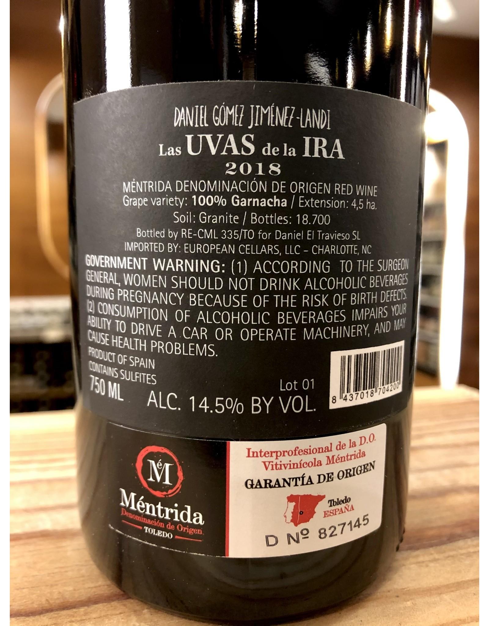 Jimenez Landi Las Uvas de la Ira Garnacha - 750 ML