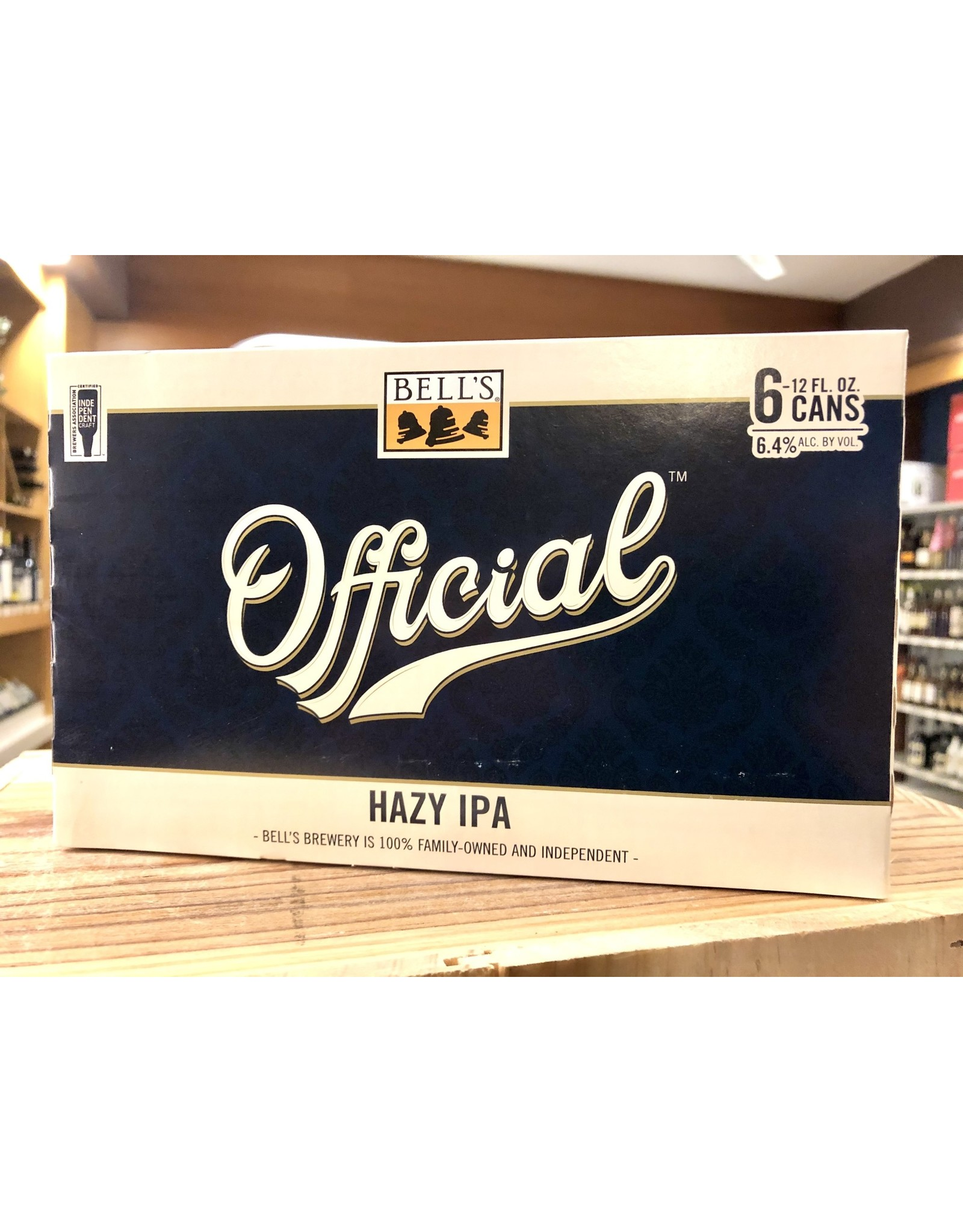 Bell's Official Hazy IPA - 6x12 oz.