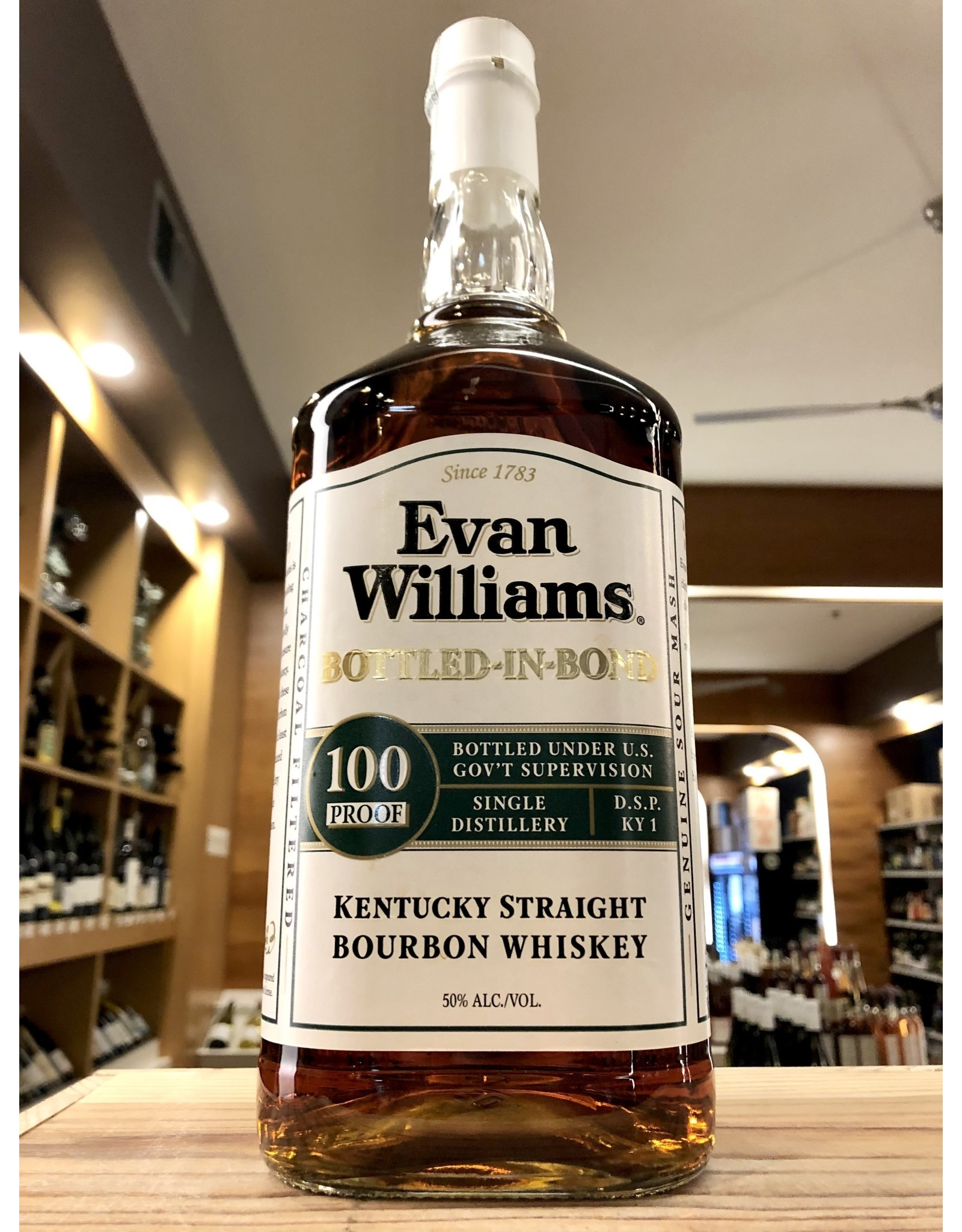 Evan Williams 100 Proof Bourbon - 1.75 Liter