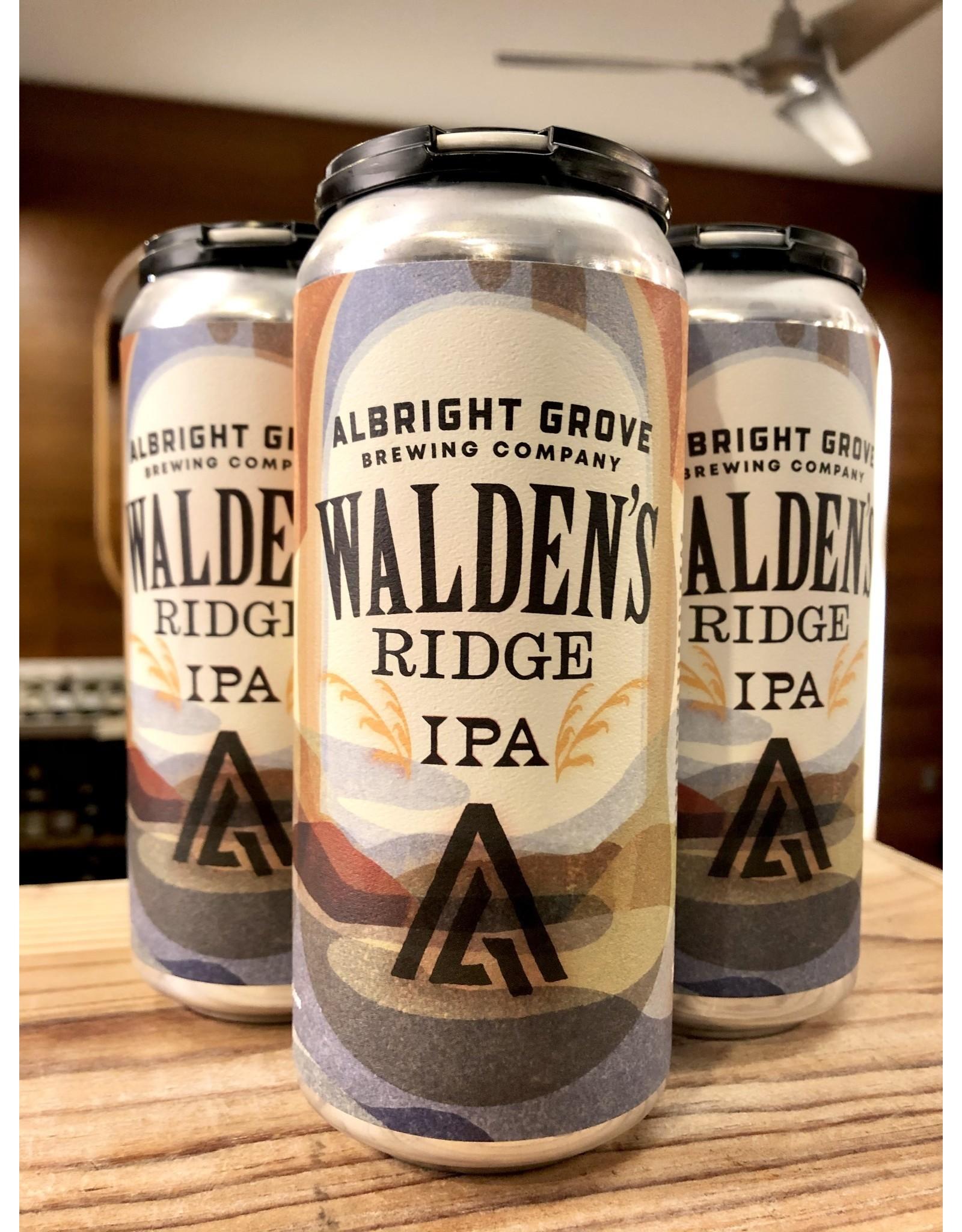 Albright Grove Walden's Ridge IPA - 4x16 oz.