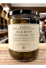 Jack Rudy Vermouth Brined Olives - 16 oz.