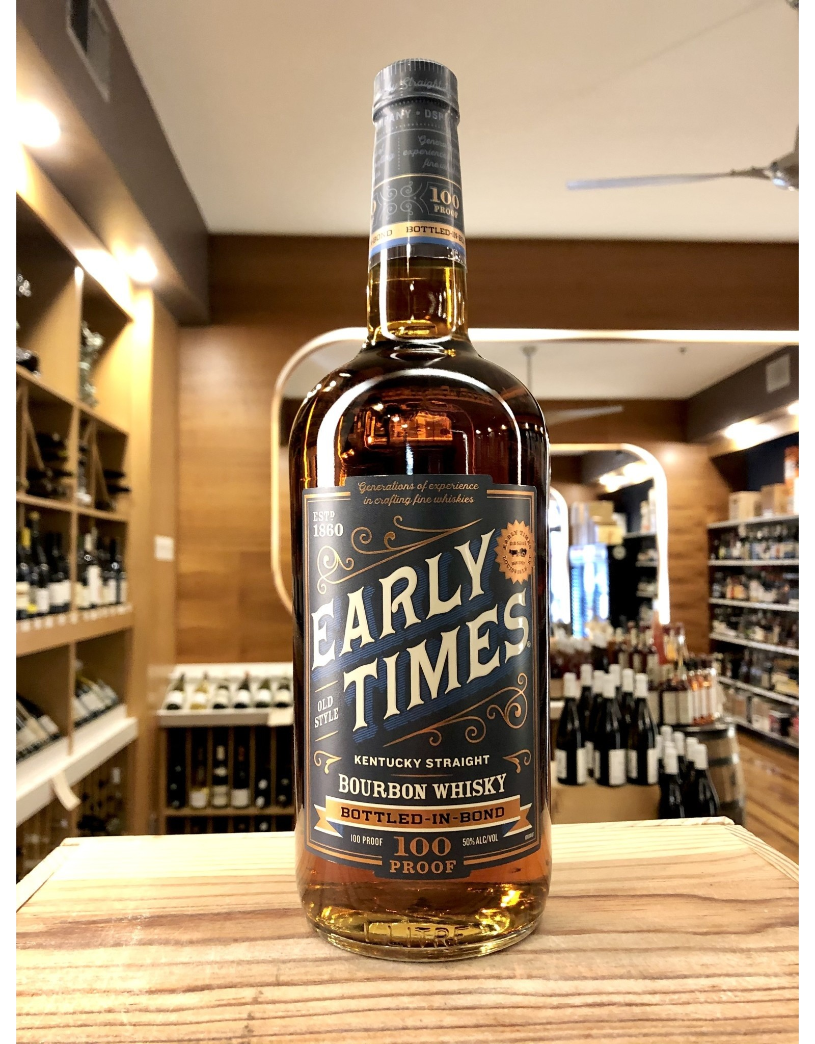 Early Times Bottled in Bond Bourbon - 1 Liter
