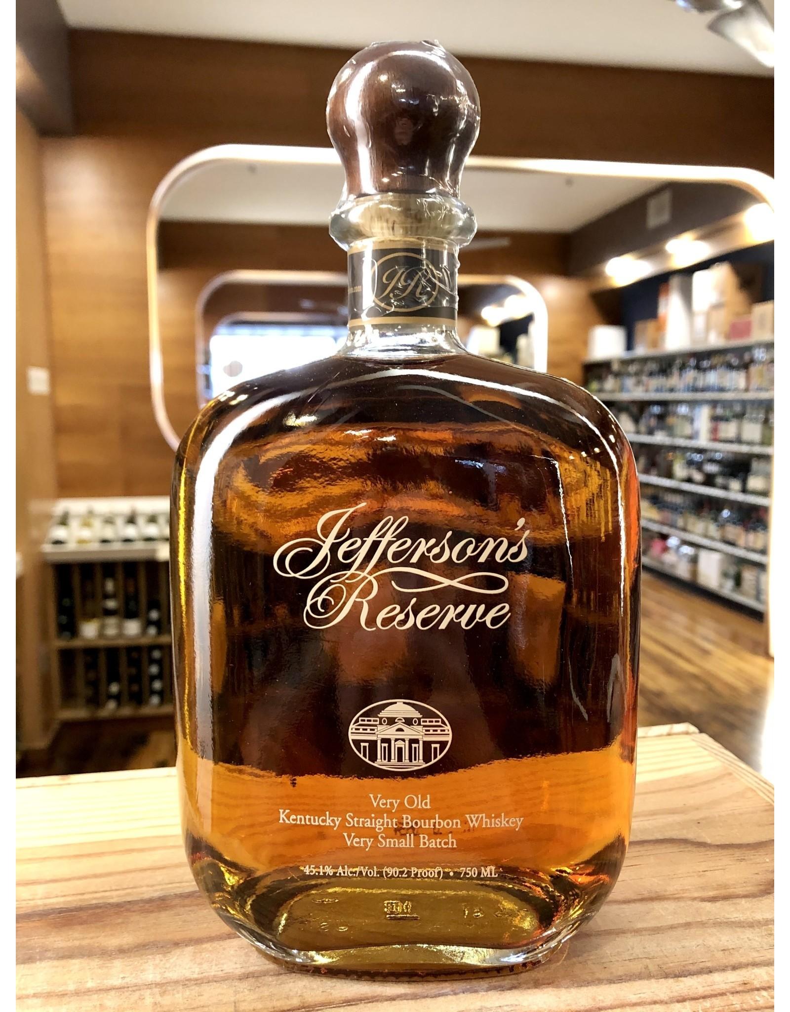 Jefferson's Reserve Bourbon - 750 ML