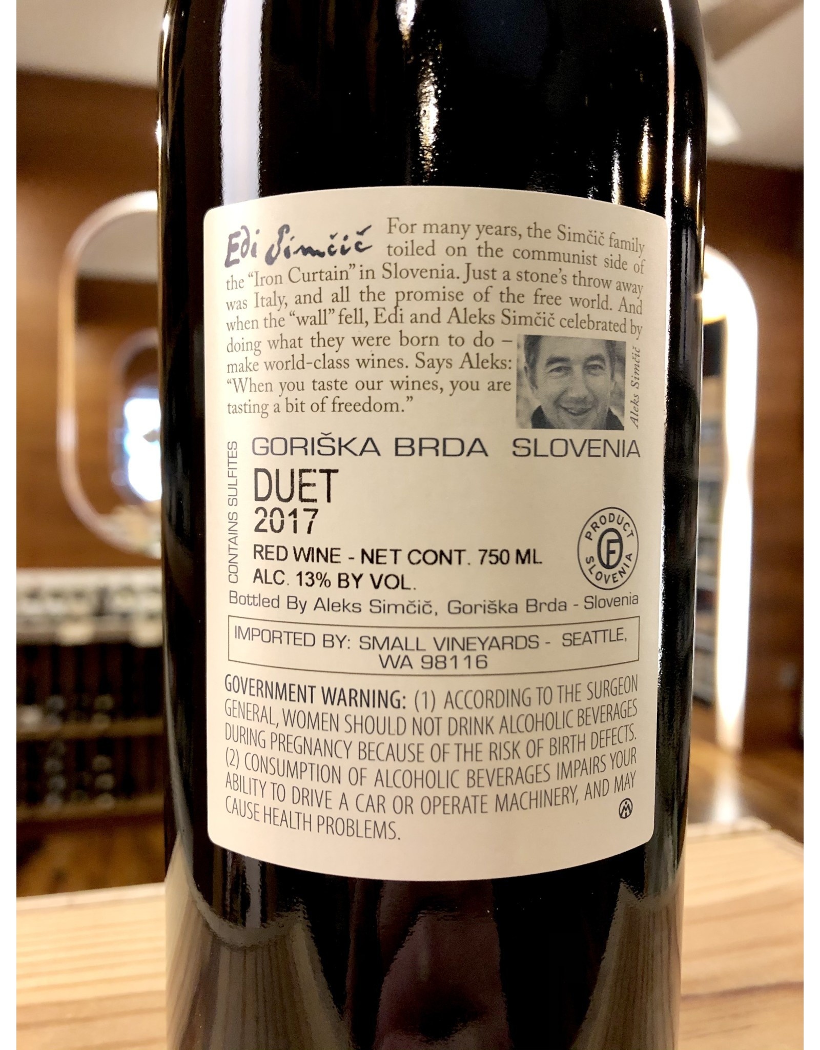 Edi Simcic Duet Red Blend - 750 ML
