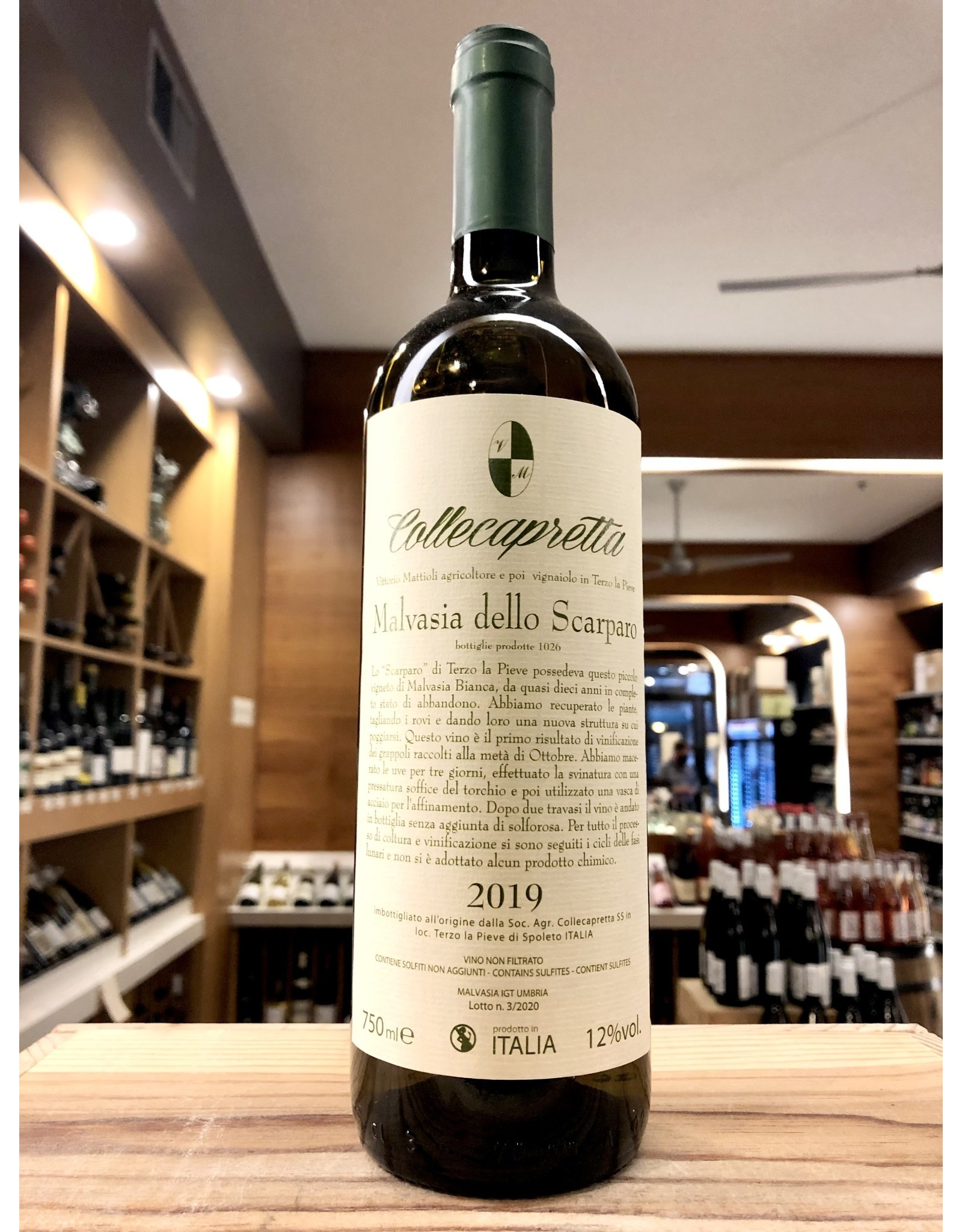 Collecapretta Malvasia dello Scarparo - 750 ML