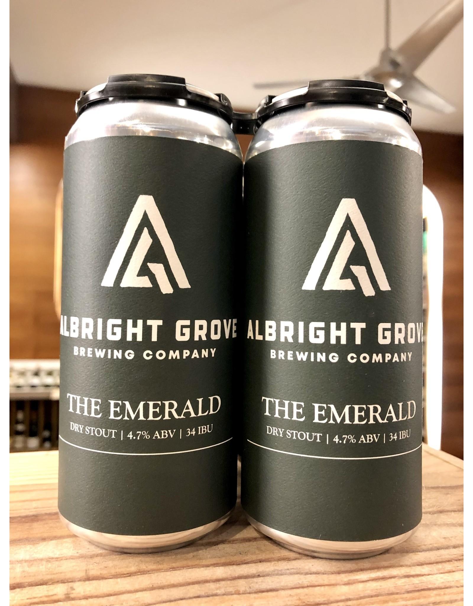 Albright Grove Emerald Dry Stout - 4x16 oz.
