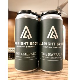Albright Grove Emerald Dry Stout - 4x16 oz.