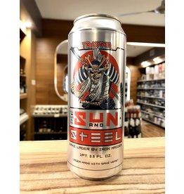 Trooper Sun & Steel Sake Lager - 16 oz.
