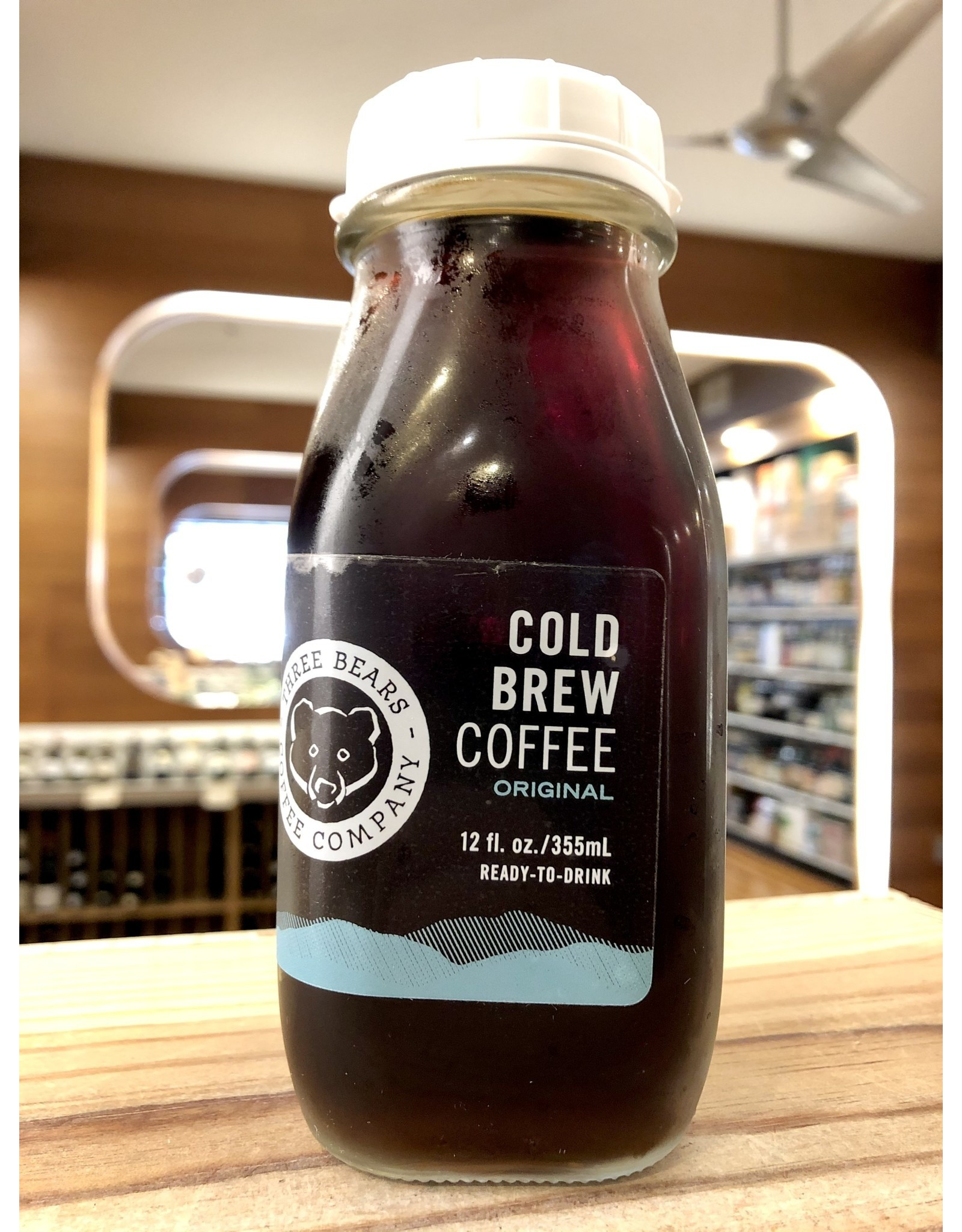 Three Bears Cold Brew Coffee - 12 oz.