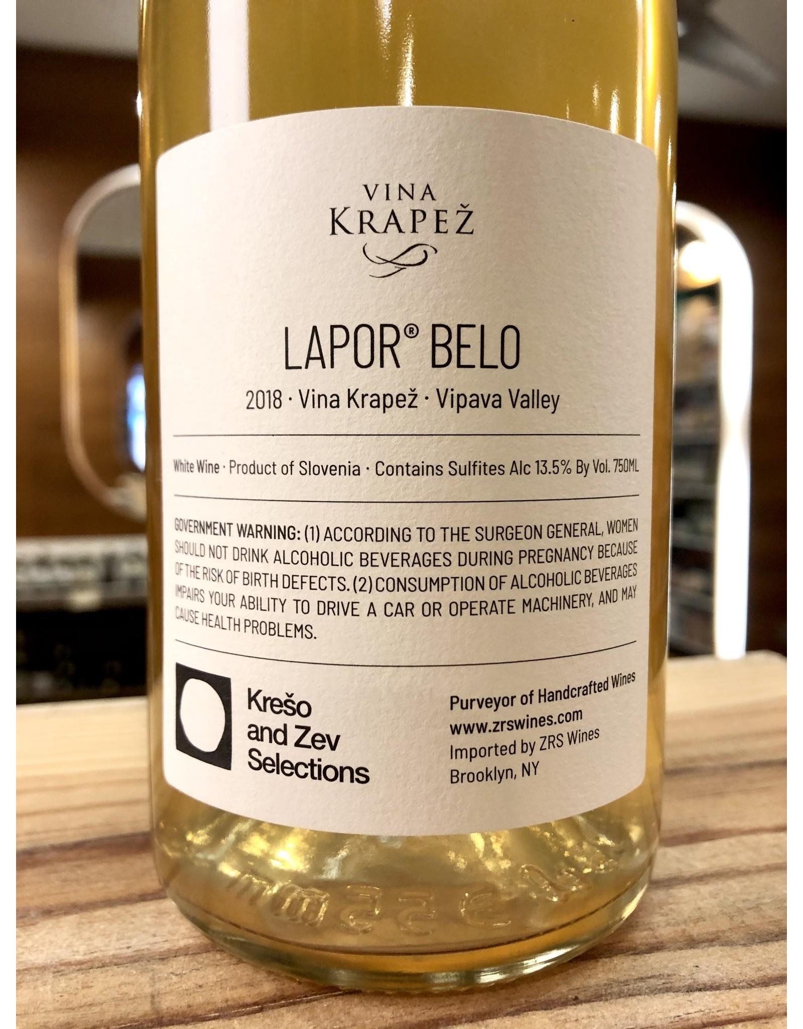 Vina Krapez Lapor Belo - 750 ML