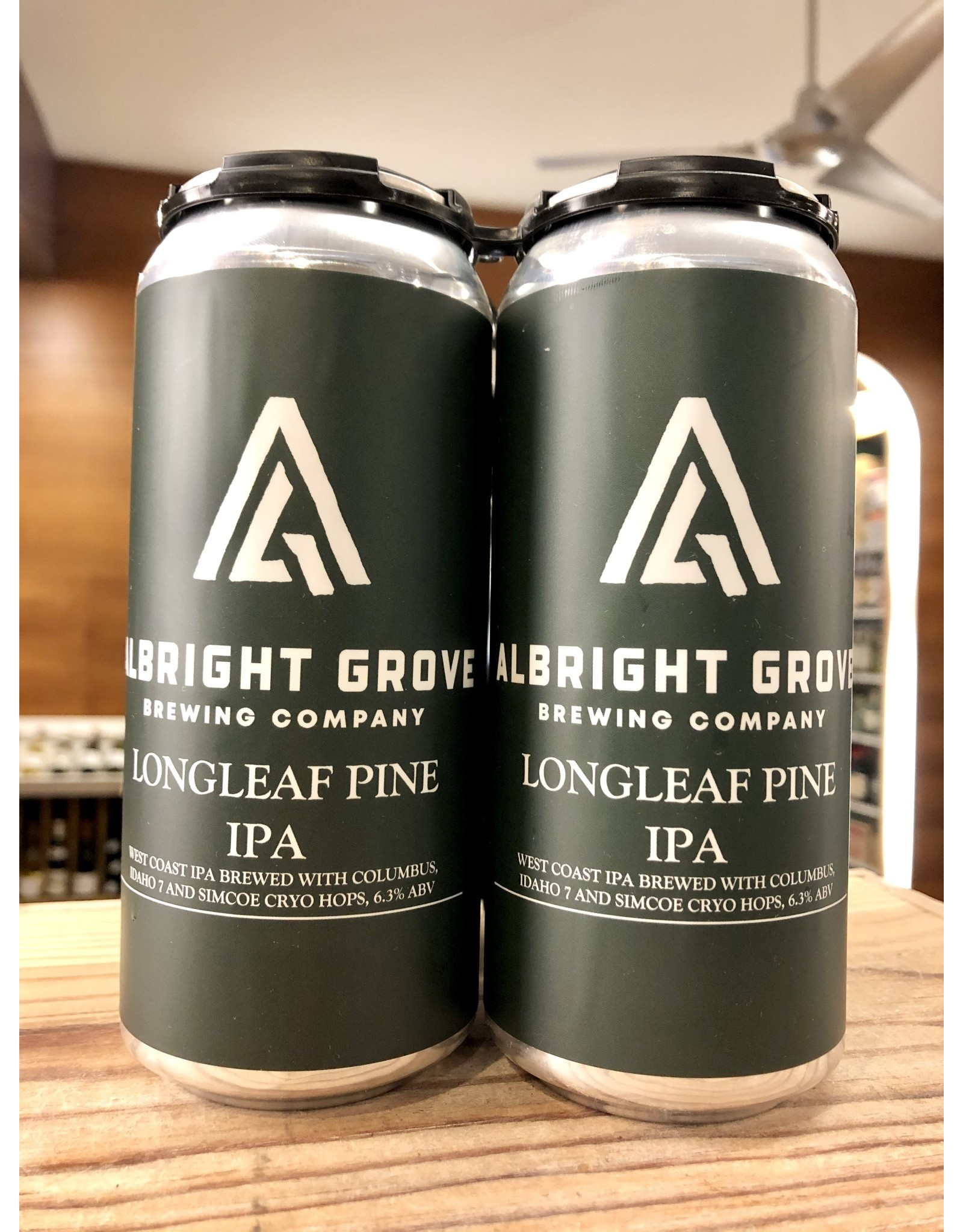 Albright Grove Longleaf Pine IPA - 4x16 oz.