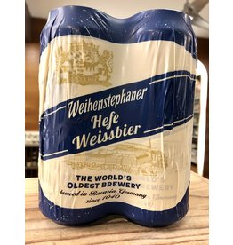 Weihenstephaner Hefe Weissbier - 4x16 oz.