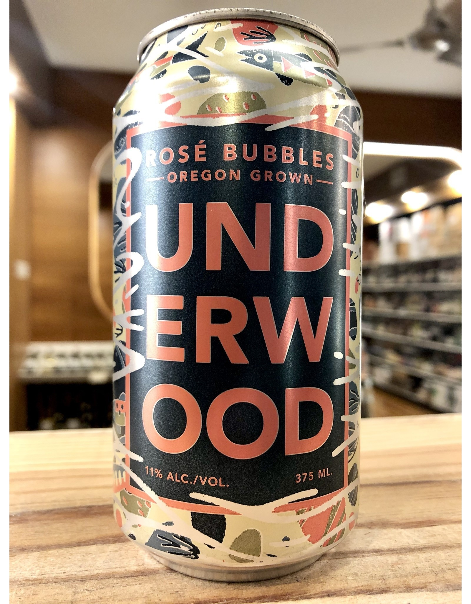 Underwood Rose Bubbles Can - 375 ML