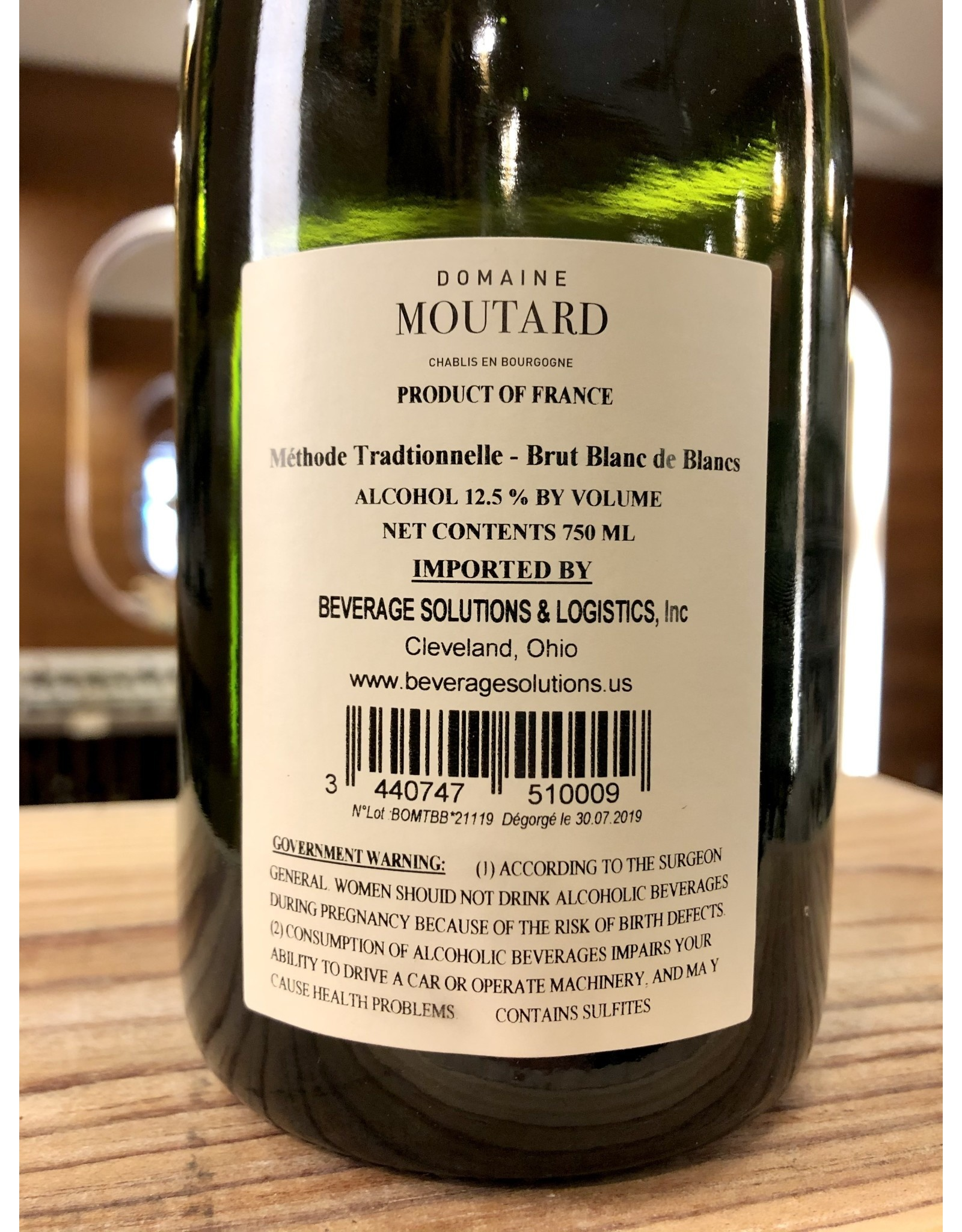 Moutard Blanc de Blancs Brut - 750 ML