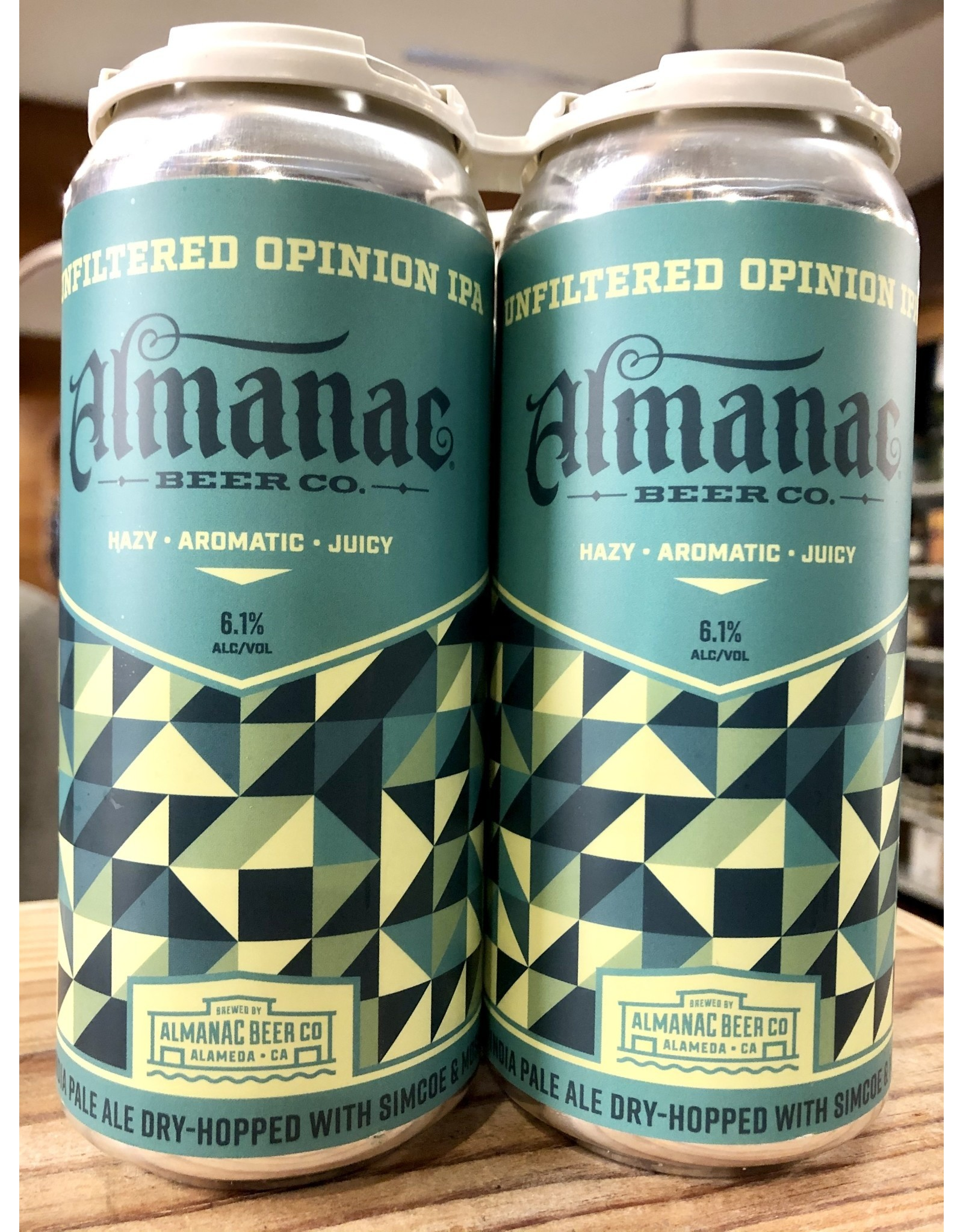 Almanac Unfiltered Opinion IPA - 4x16 oz.