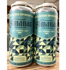 Almanac Unfiltered Opinion IPA - 4x16 oz.