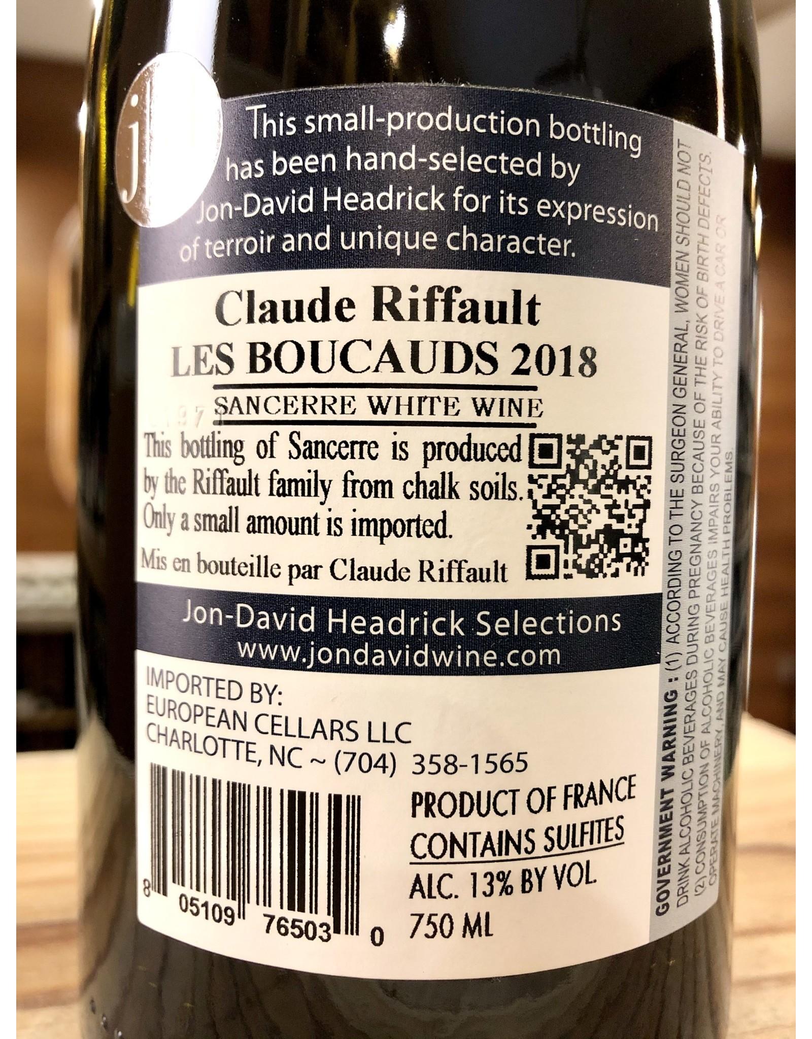 Claude Riffault Les Boucauds Sancerre - 750 ML