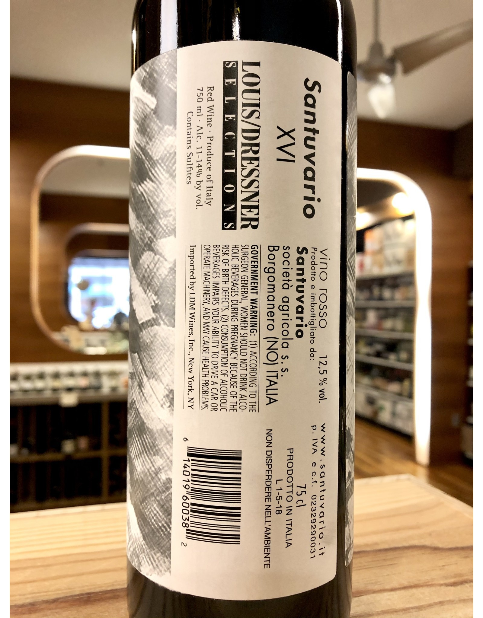 Santuvario Vino Rosso - 750 ML