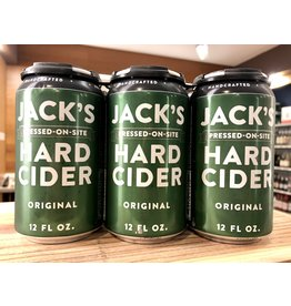 Jack's Original Hard Cider - 6x12 oz.