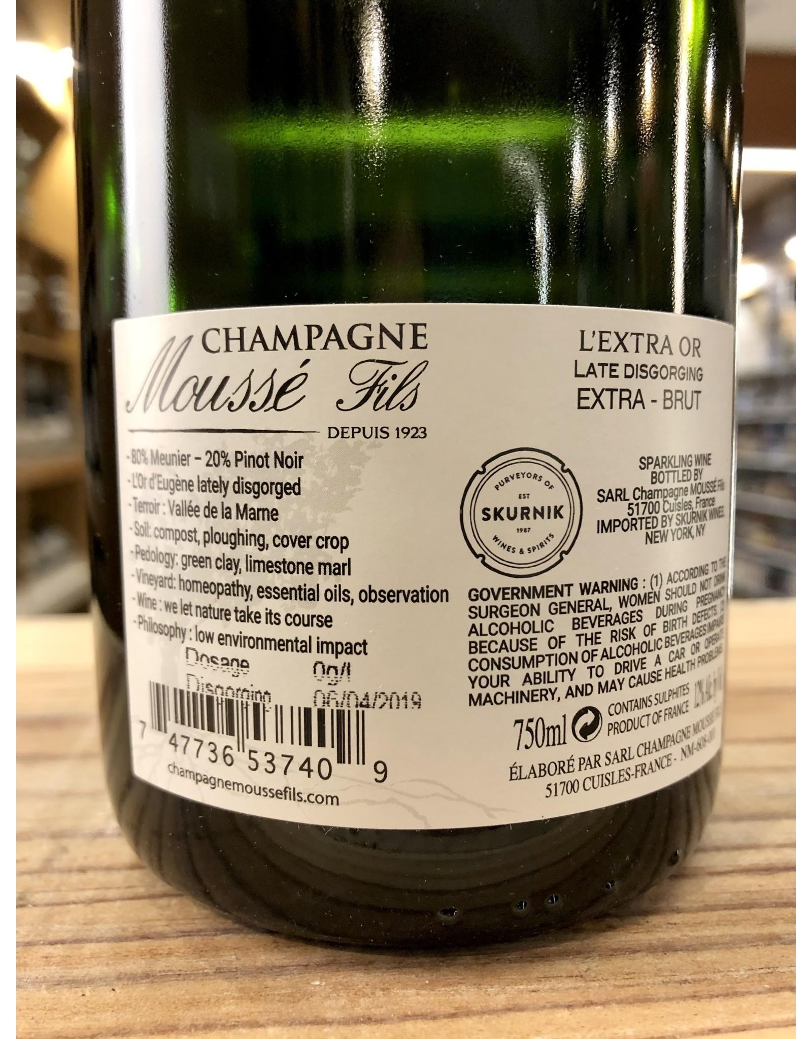 Mousse Perpetuelle Blanc de Noirs Extra Brut Champagne - 750 ML