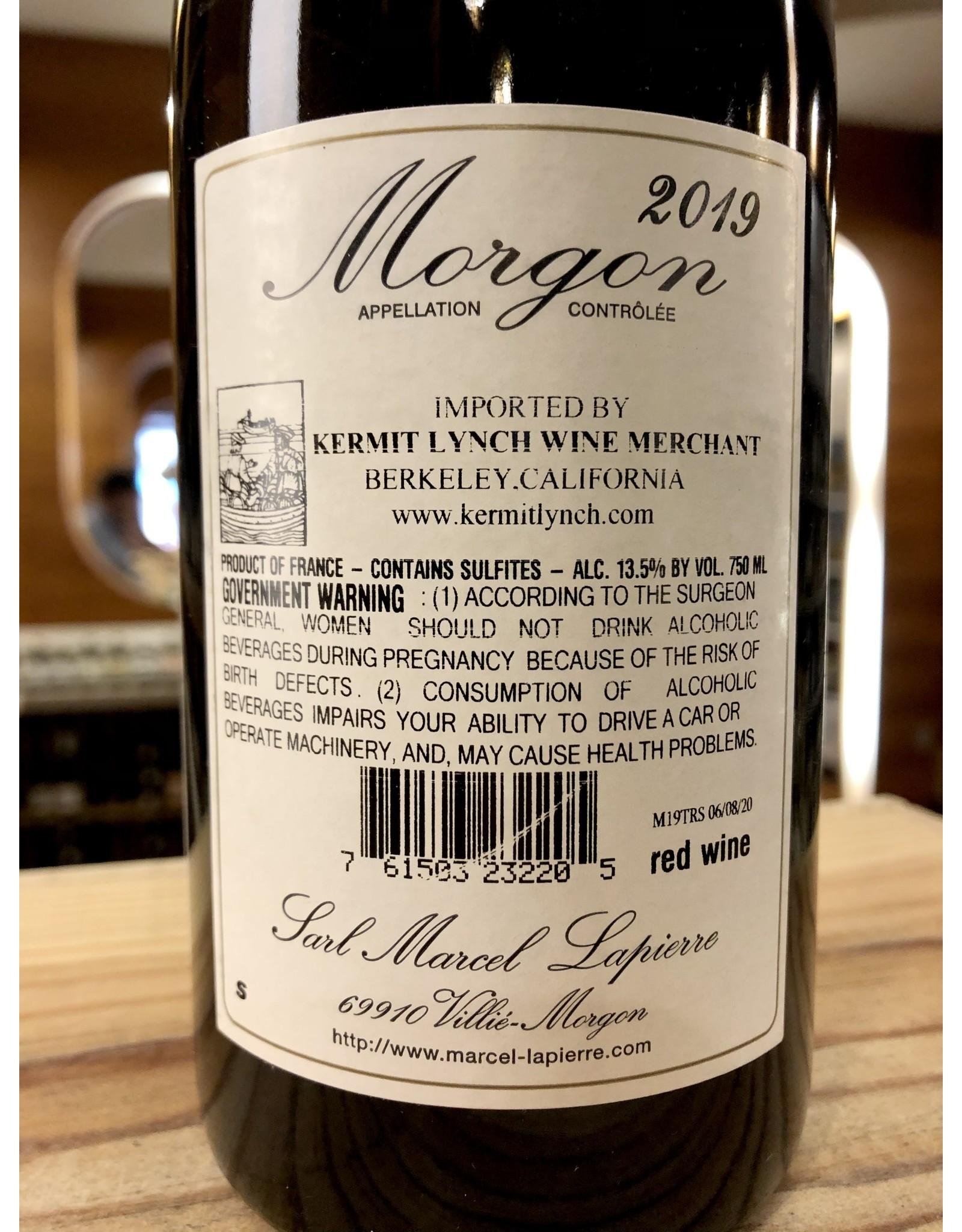 Lapierre Morgon 2019 - 750 ML
