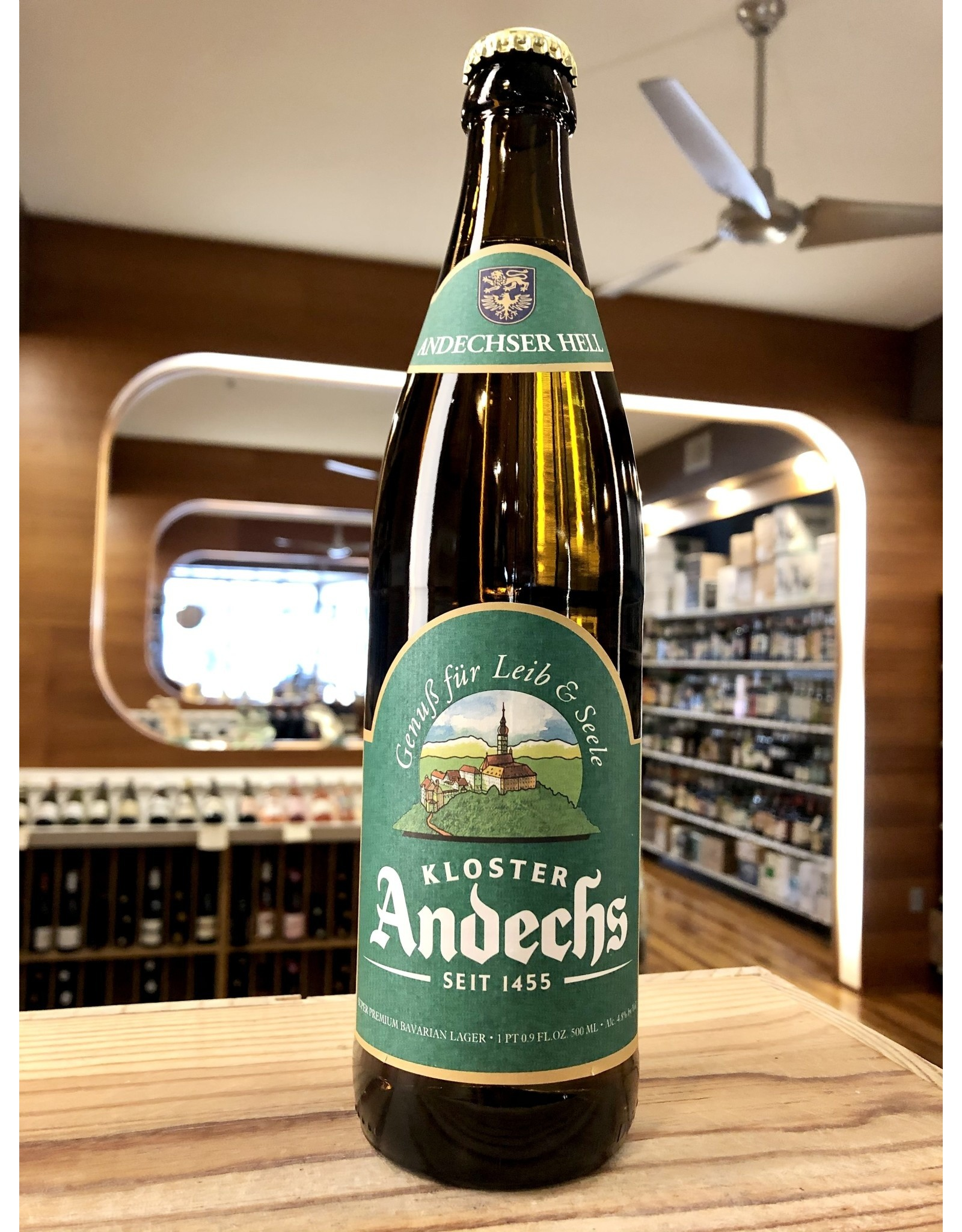 Andechs Andechser Hell Lager - 500 ML
