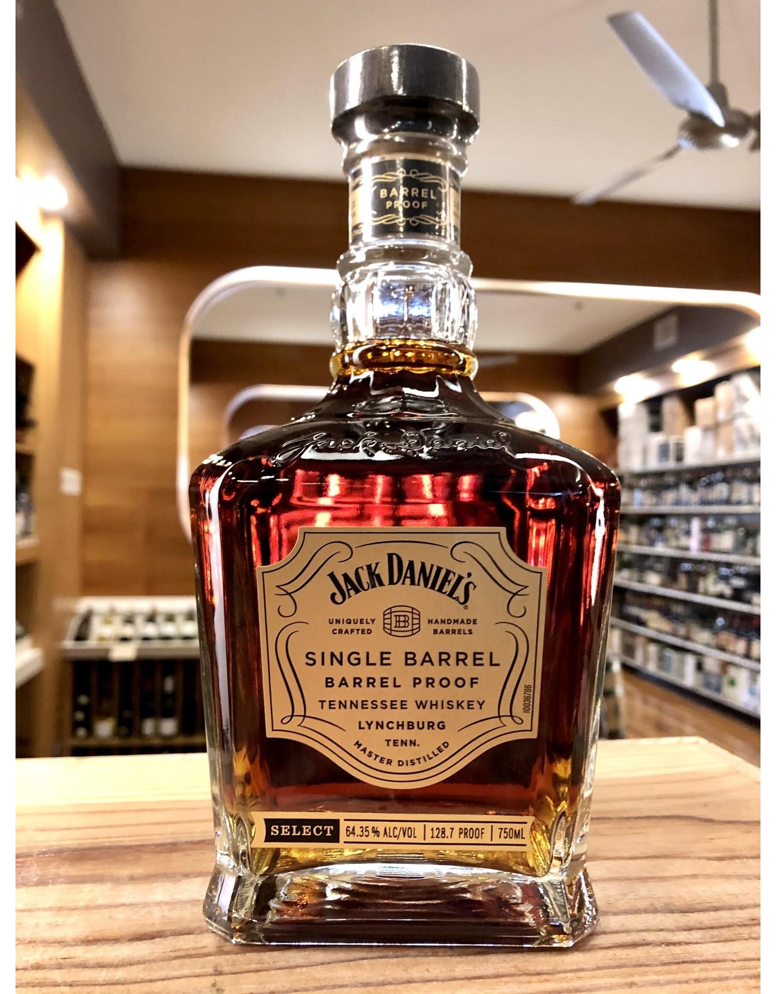 Jack Daniels Single Barrel Barrel Proof Whiskey - 750 ML